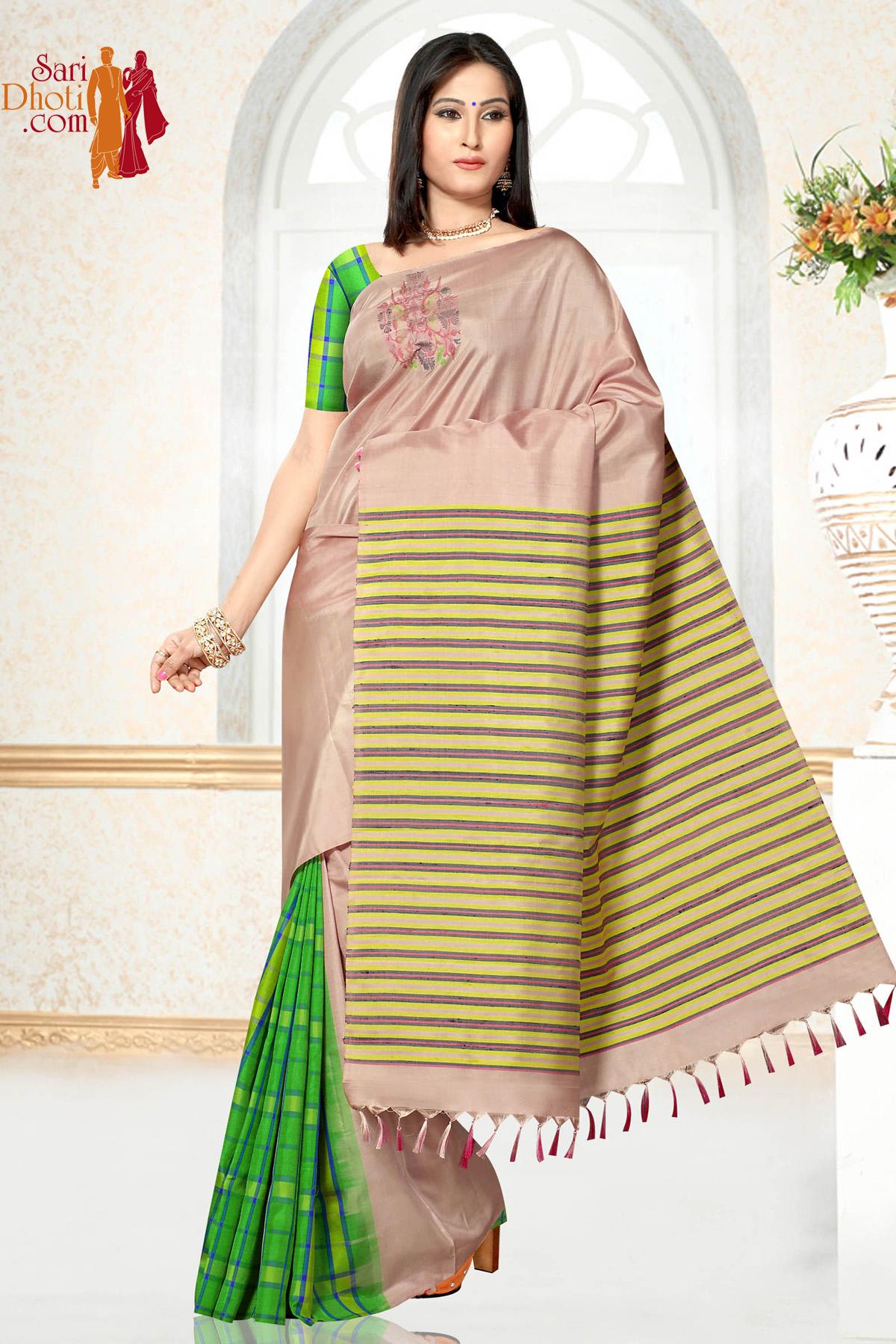 Soft Silk Saree US_1193