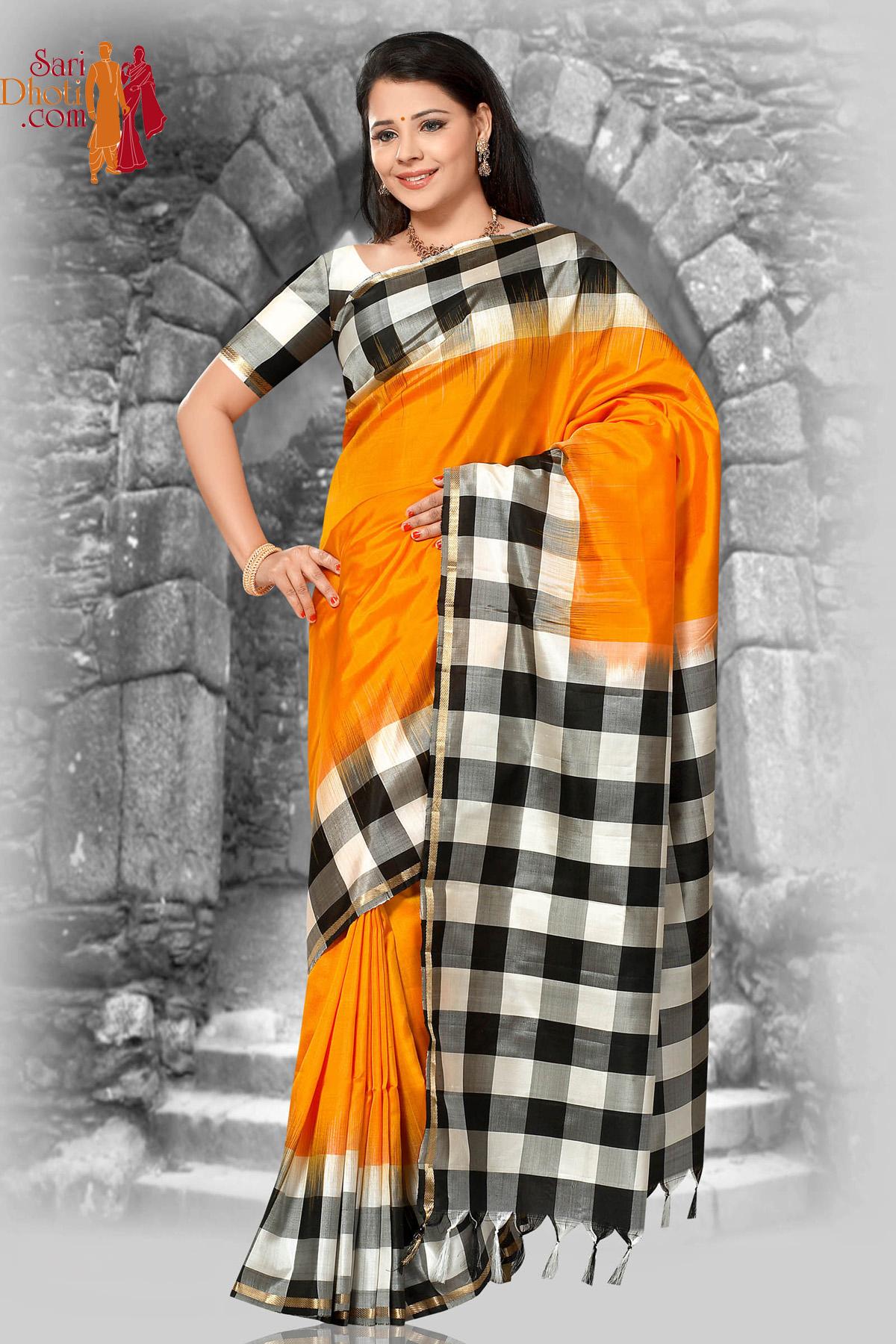 Soft Silk Saree US_1397
