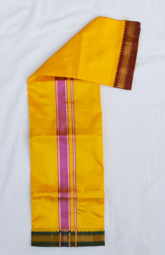 Silk Dhoti  US_829