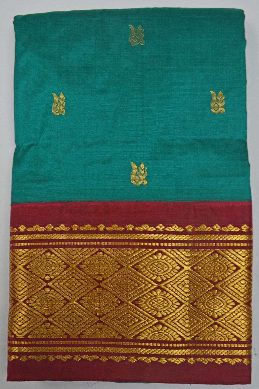 Temple Saree 2453