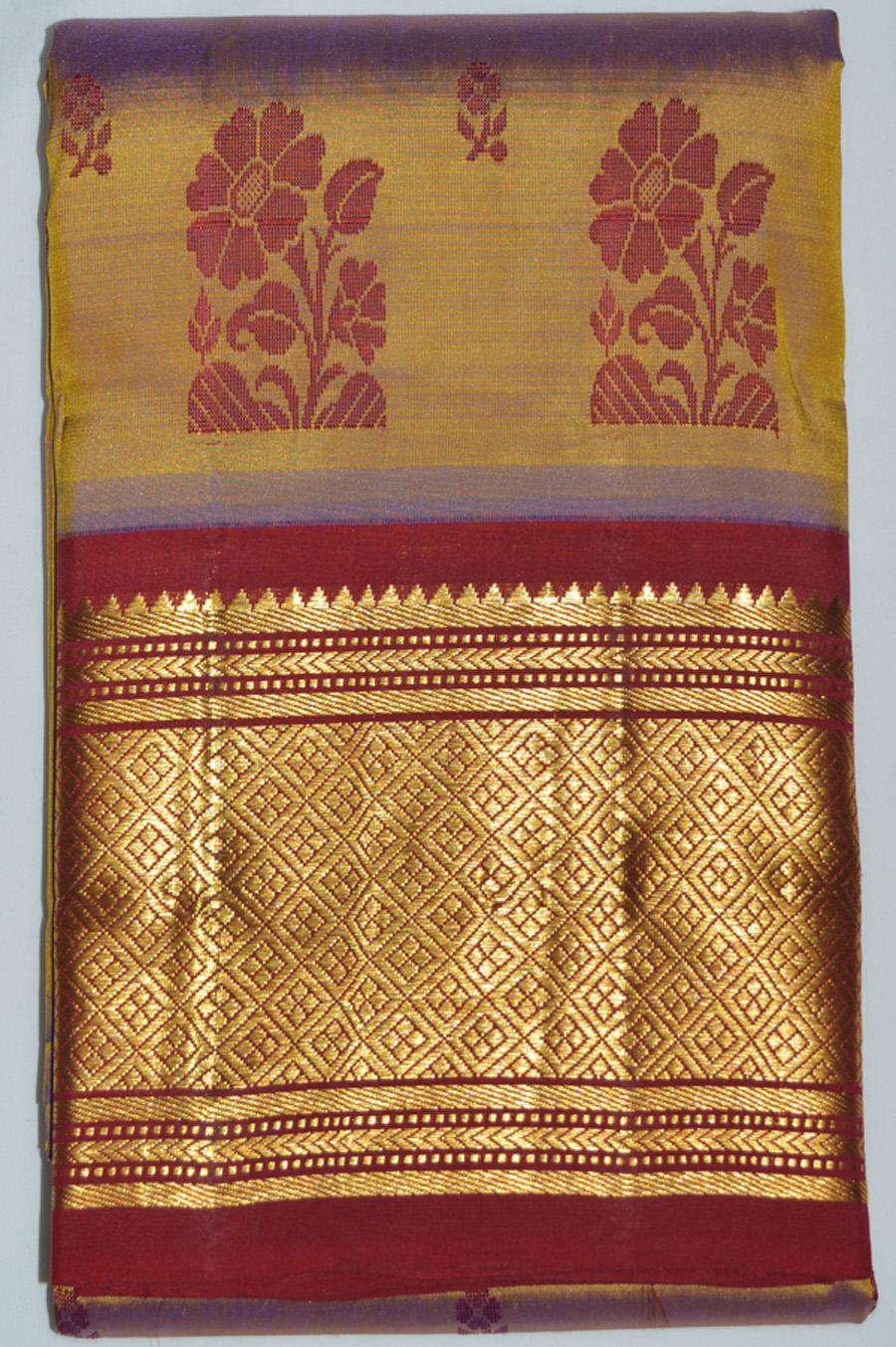 Temple Saree 2866