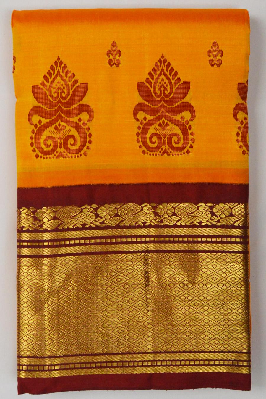 Temple Saree 2909