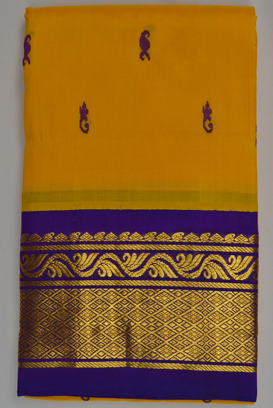 Temple Saree 3036