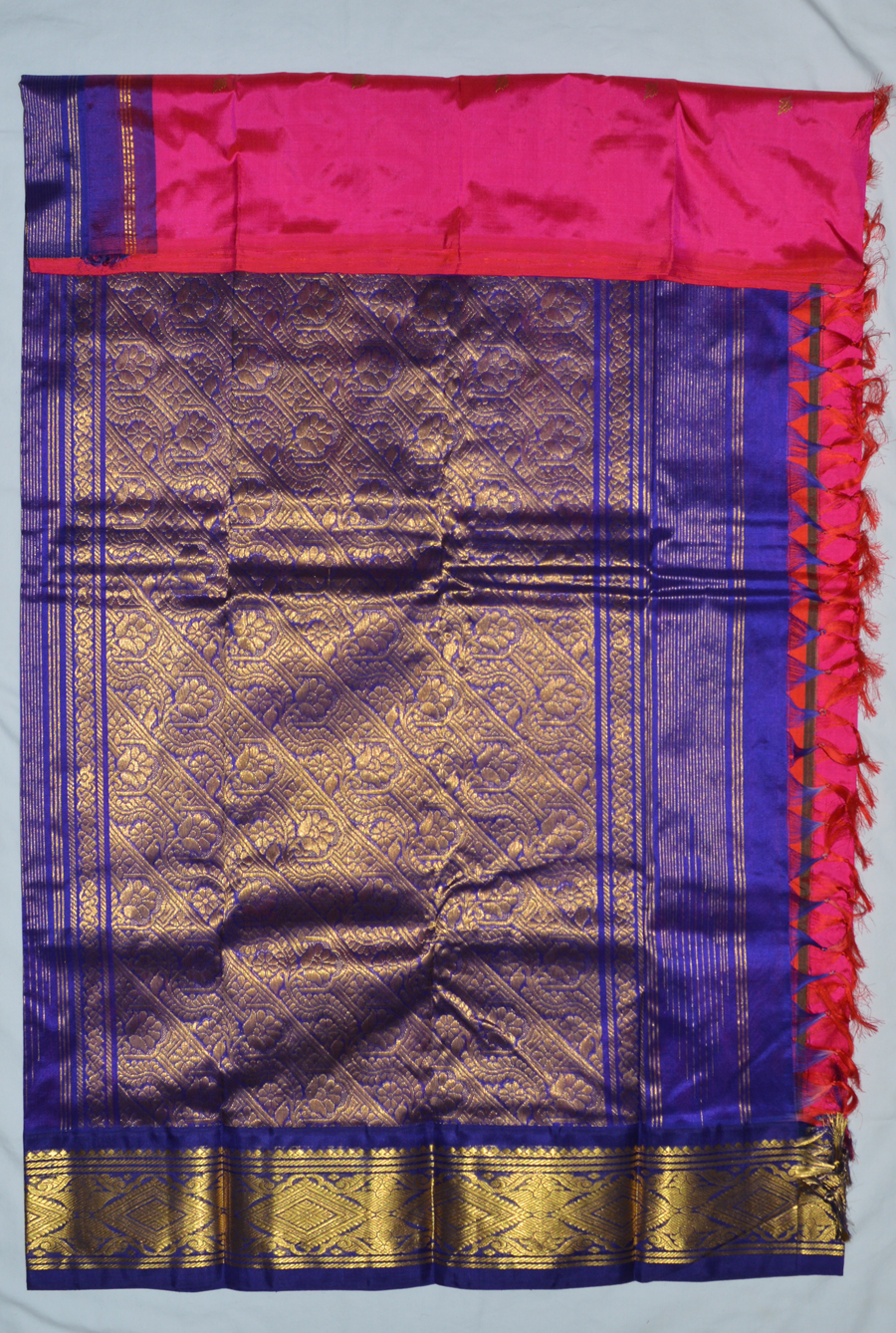 Temple Saree 3424