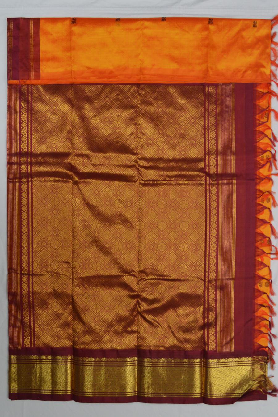 Temple Saree 3426