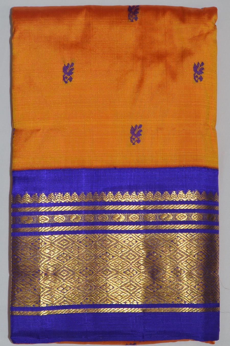 Temple Saree 3491