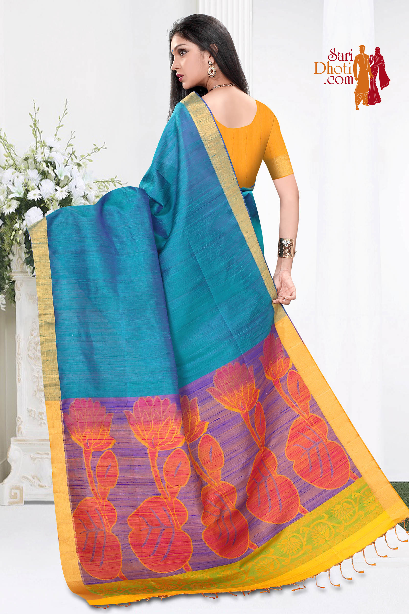Dupion Silk Saree 3659
