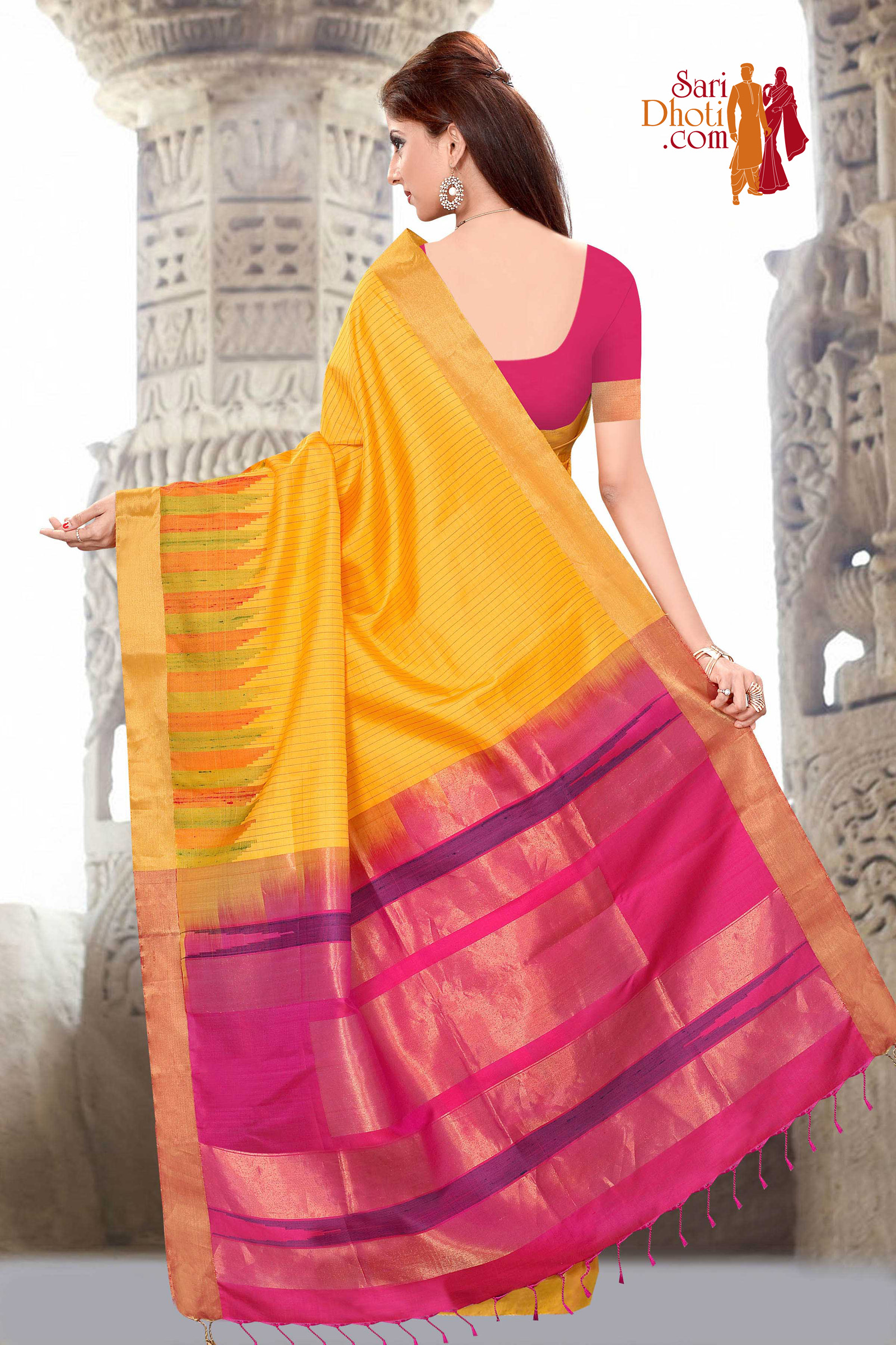 Soft Silk Saree 3660