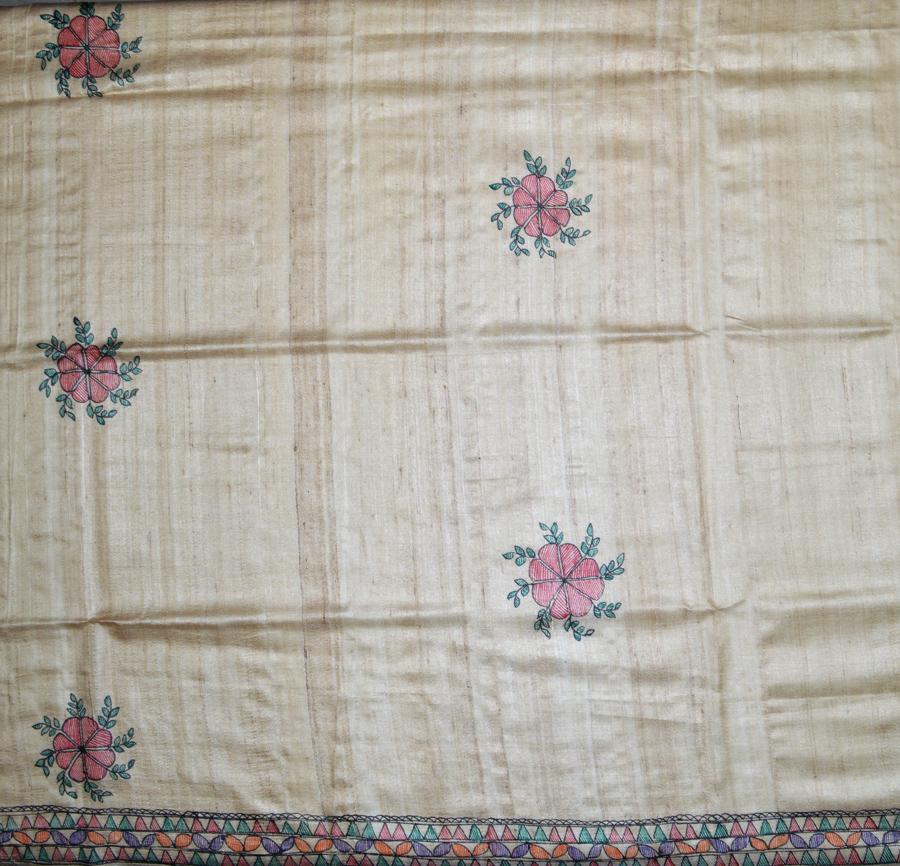 Tussar Silk  3429