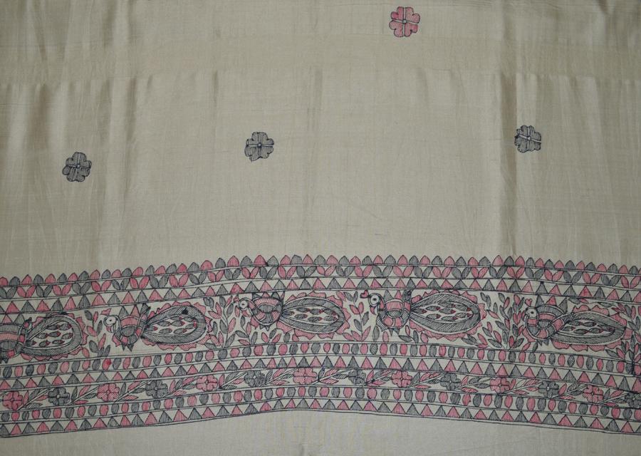 Tussar Silk  3428