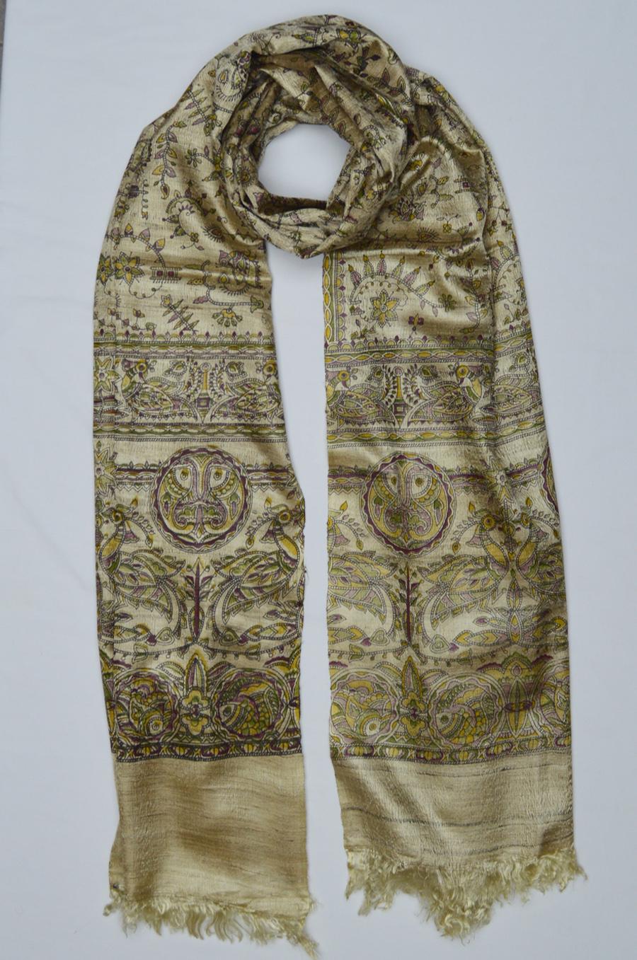 Tussar Silk  3484