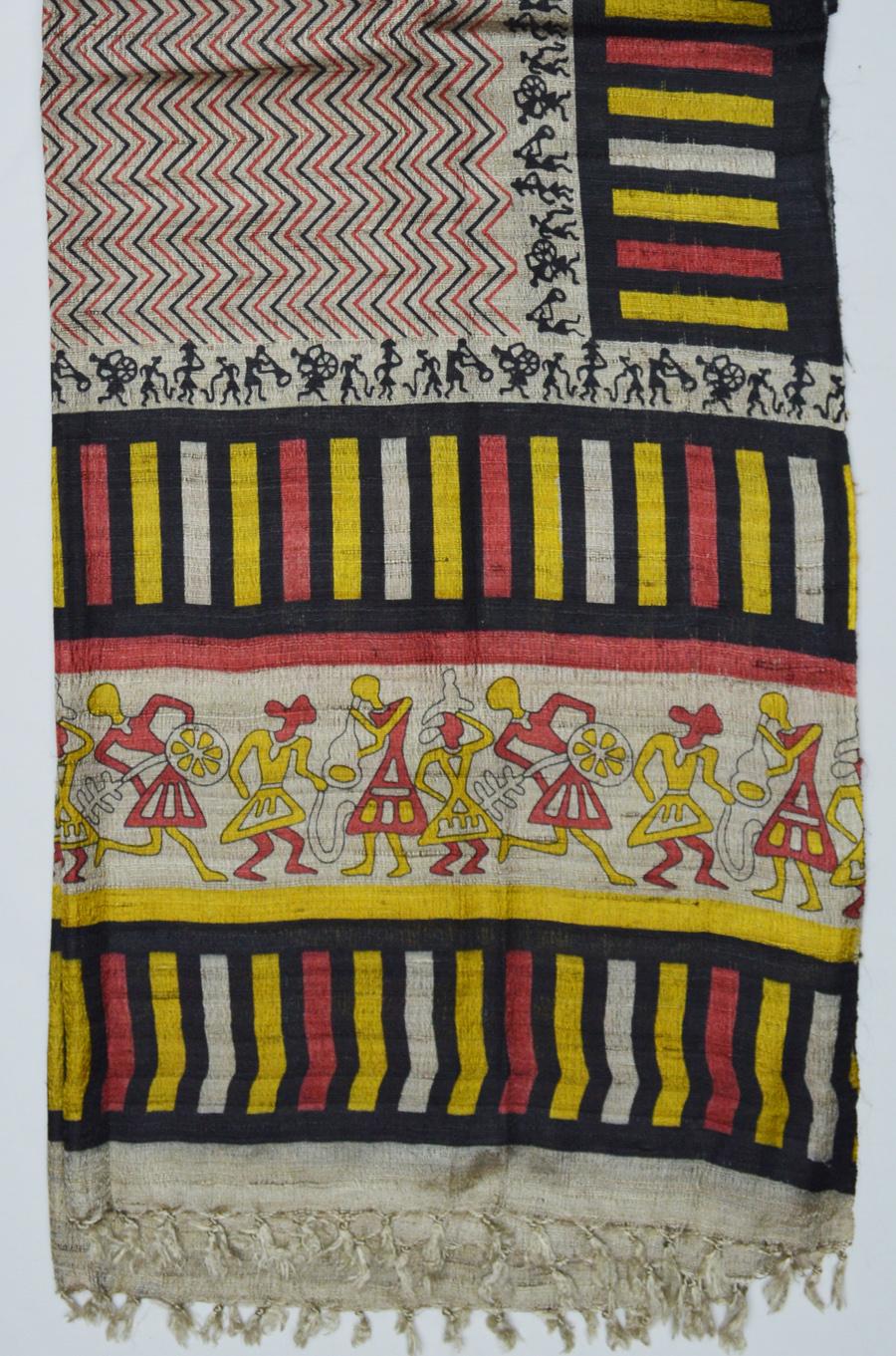 Tussar Silk  3489