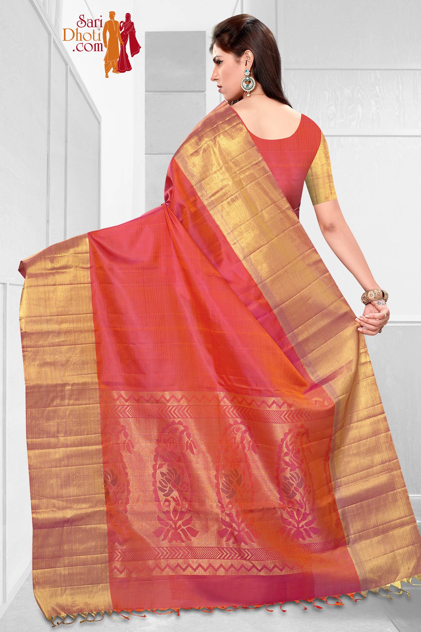 Soft Silk Saree 3619