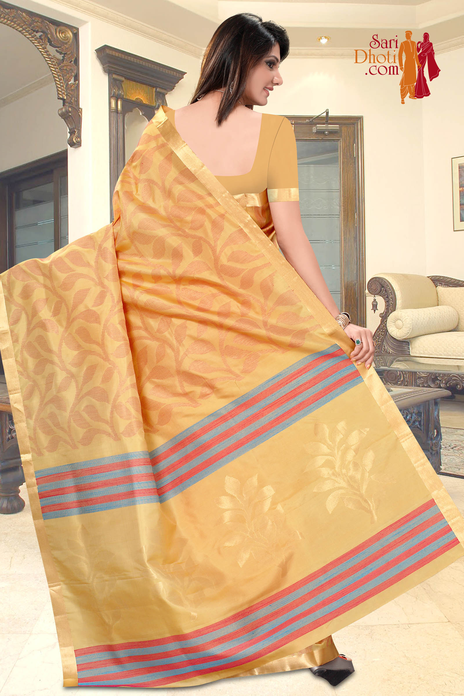 Soft Silk Saree 3639