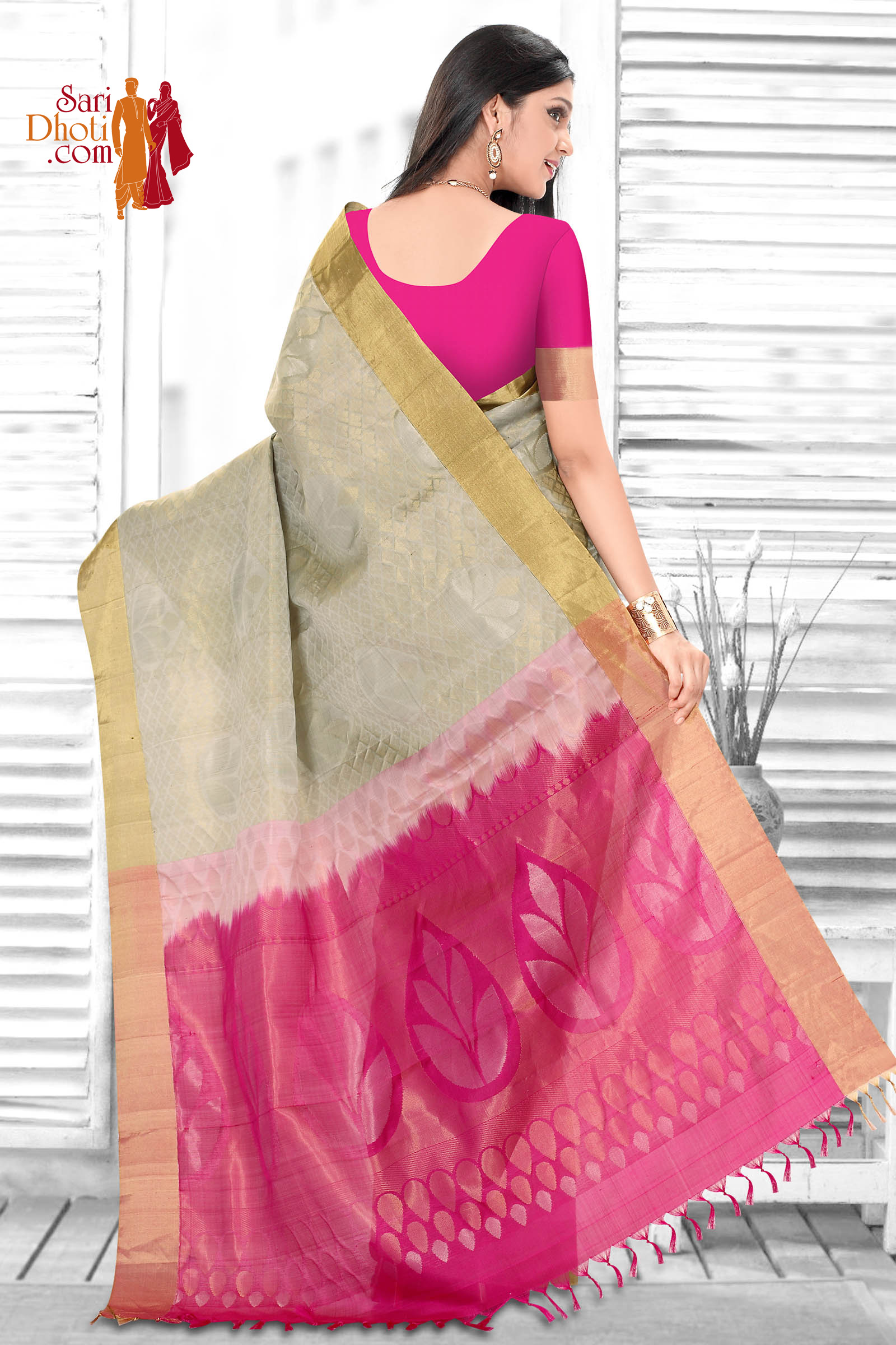 Soft Silk Saree 3640