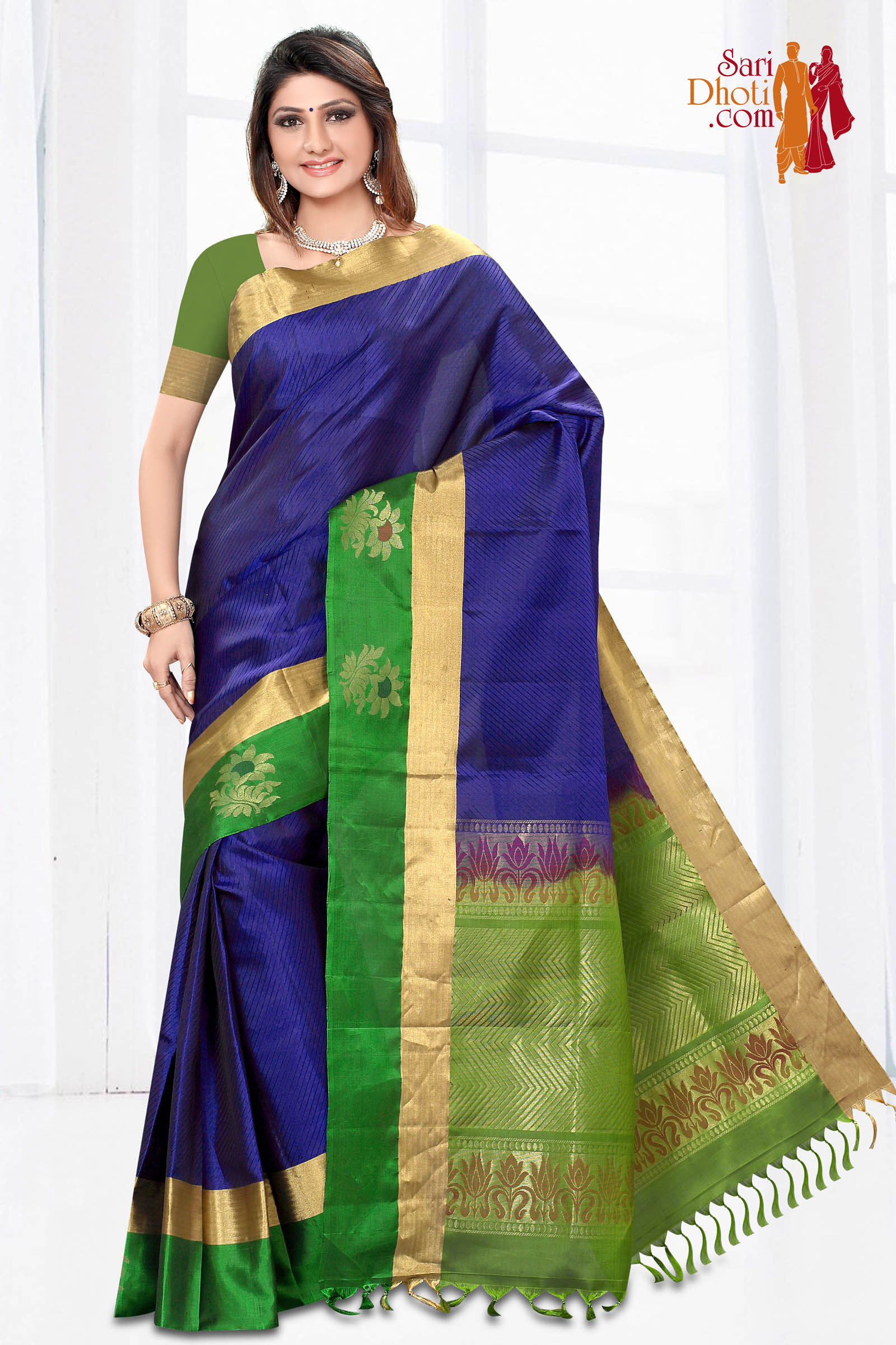 Soft Silk Saree 3644