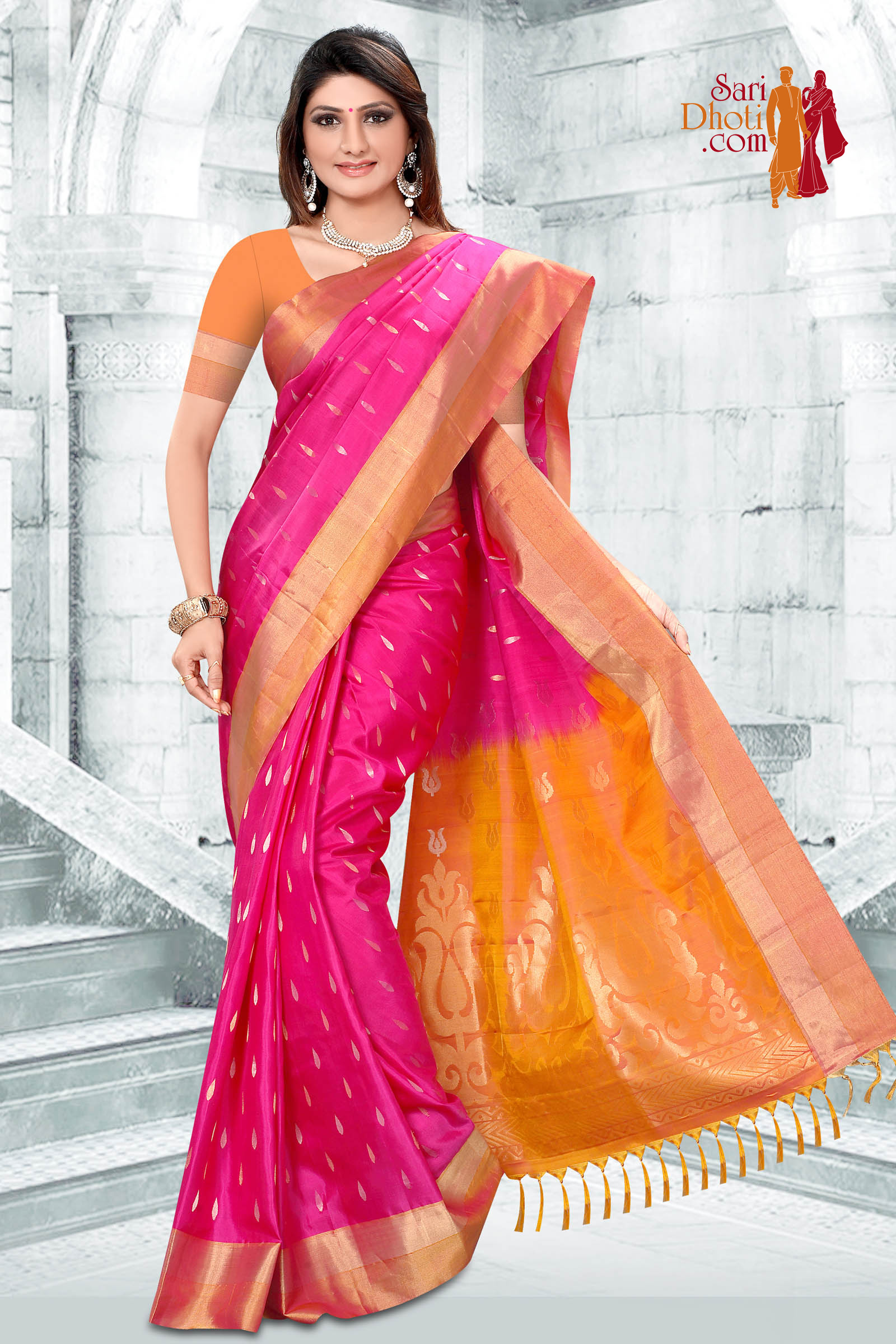 Soft Silk Saree 3646