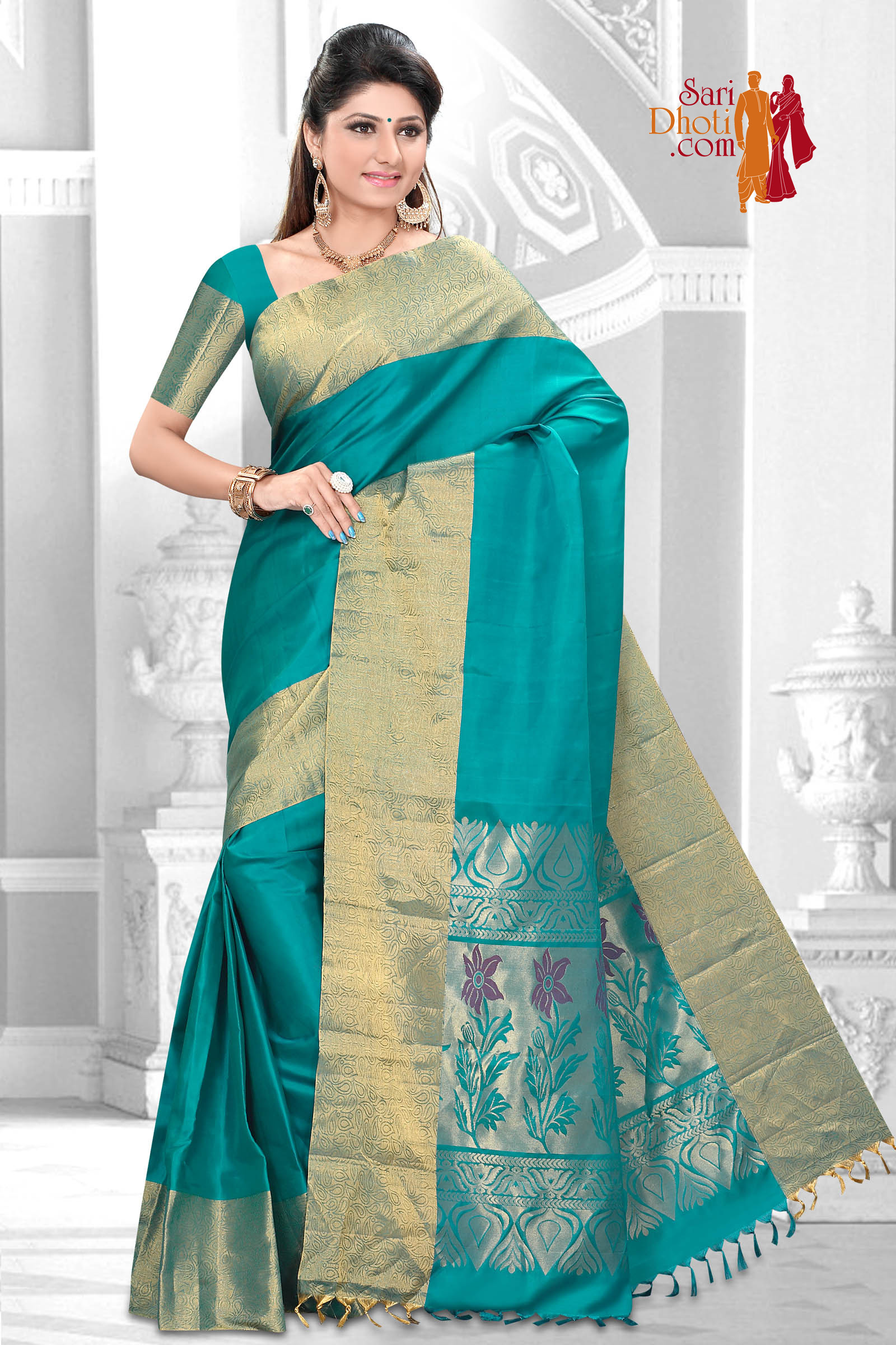 Soft Silk Saree 3648