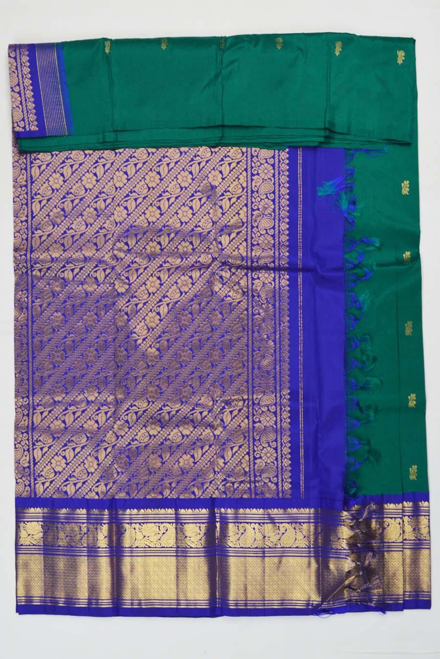 Temple Saree 3687