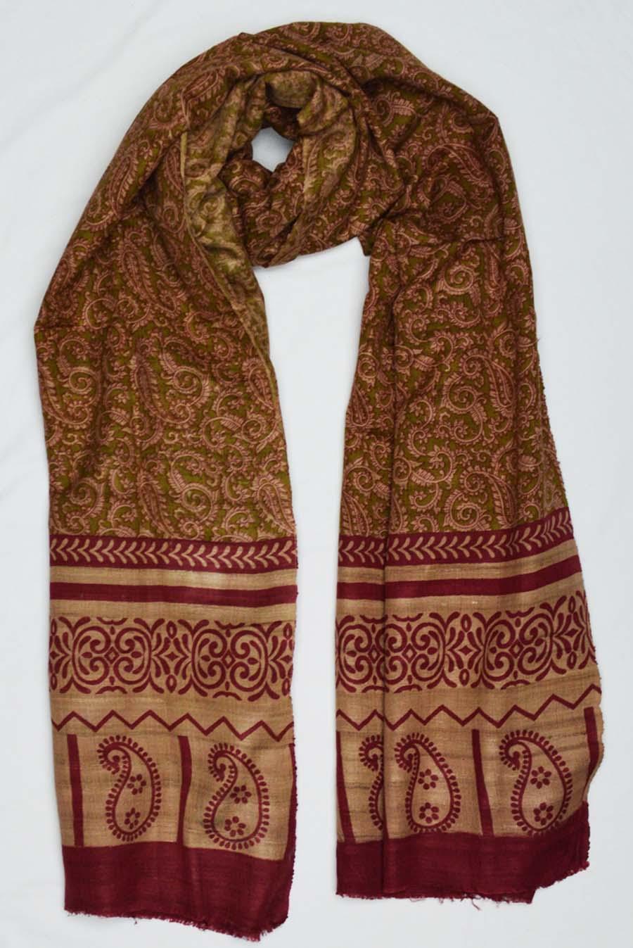 Tussar Silk  3846