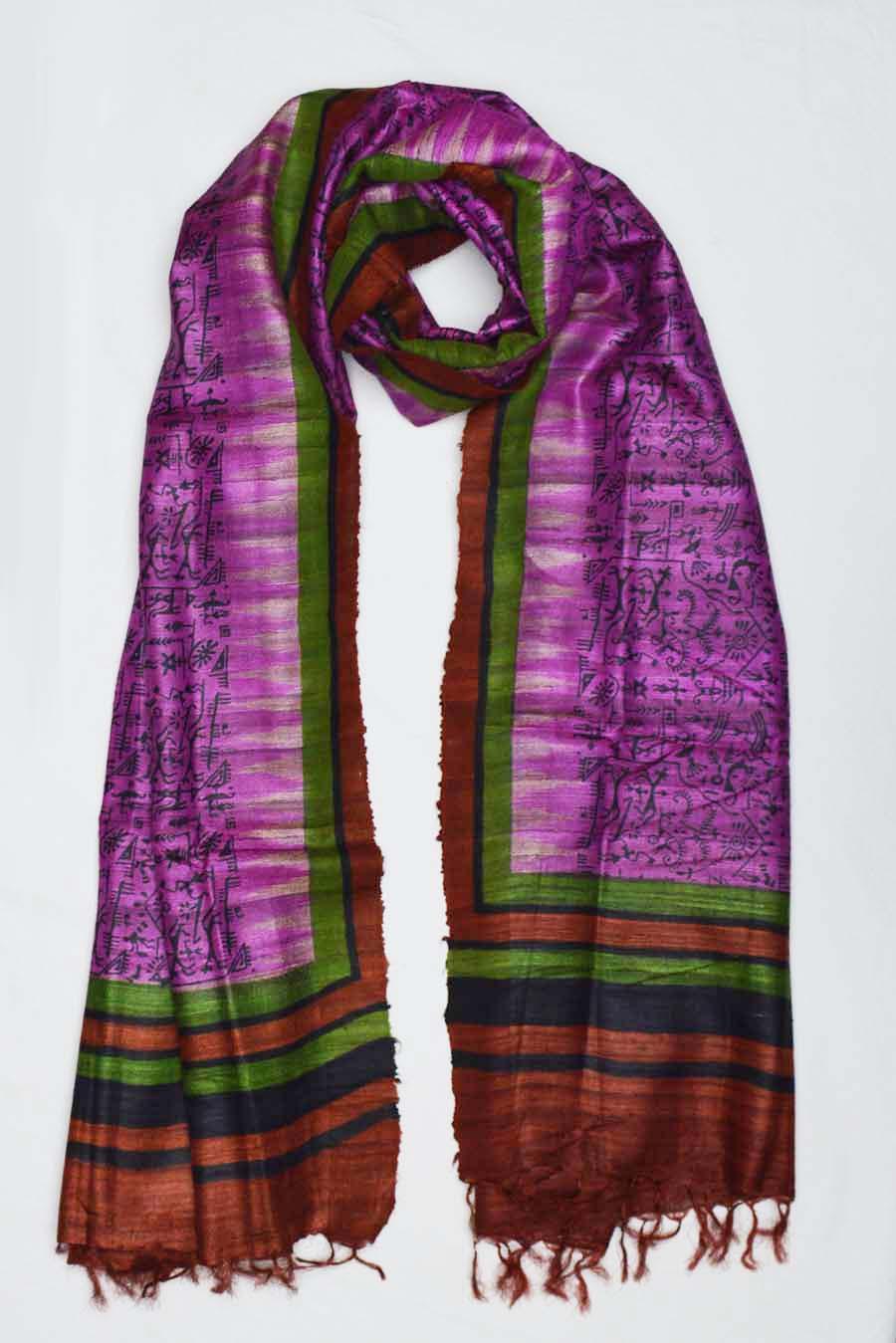Tussar Silk  3860