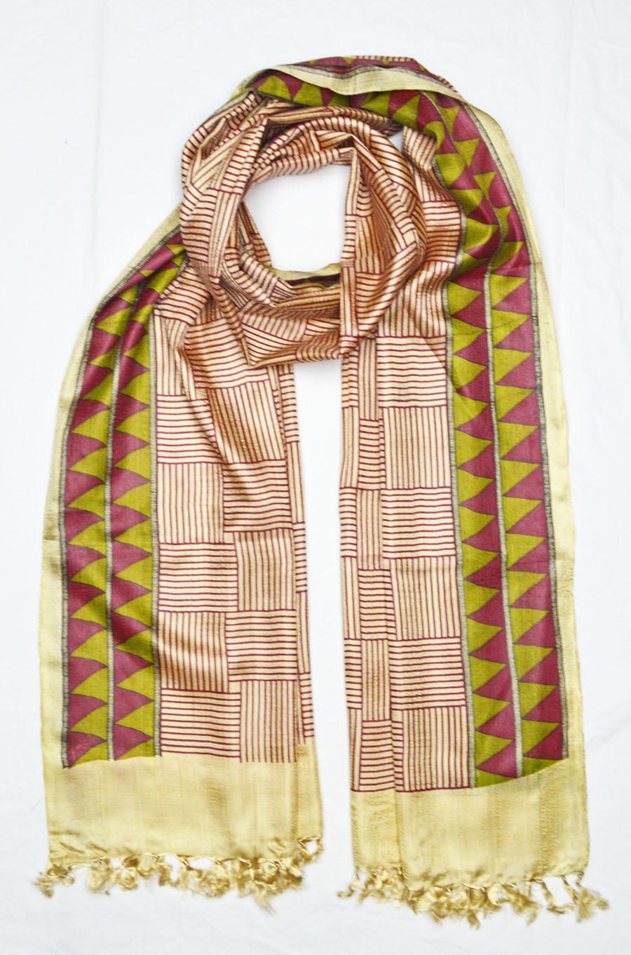 Tussar Silk  3924