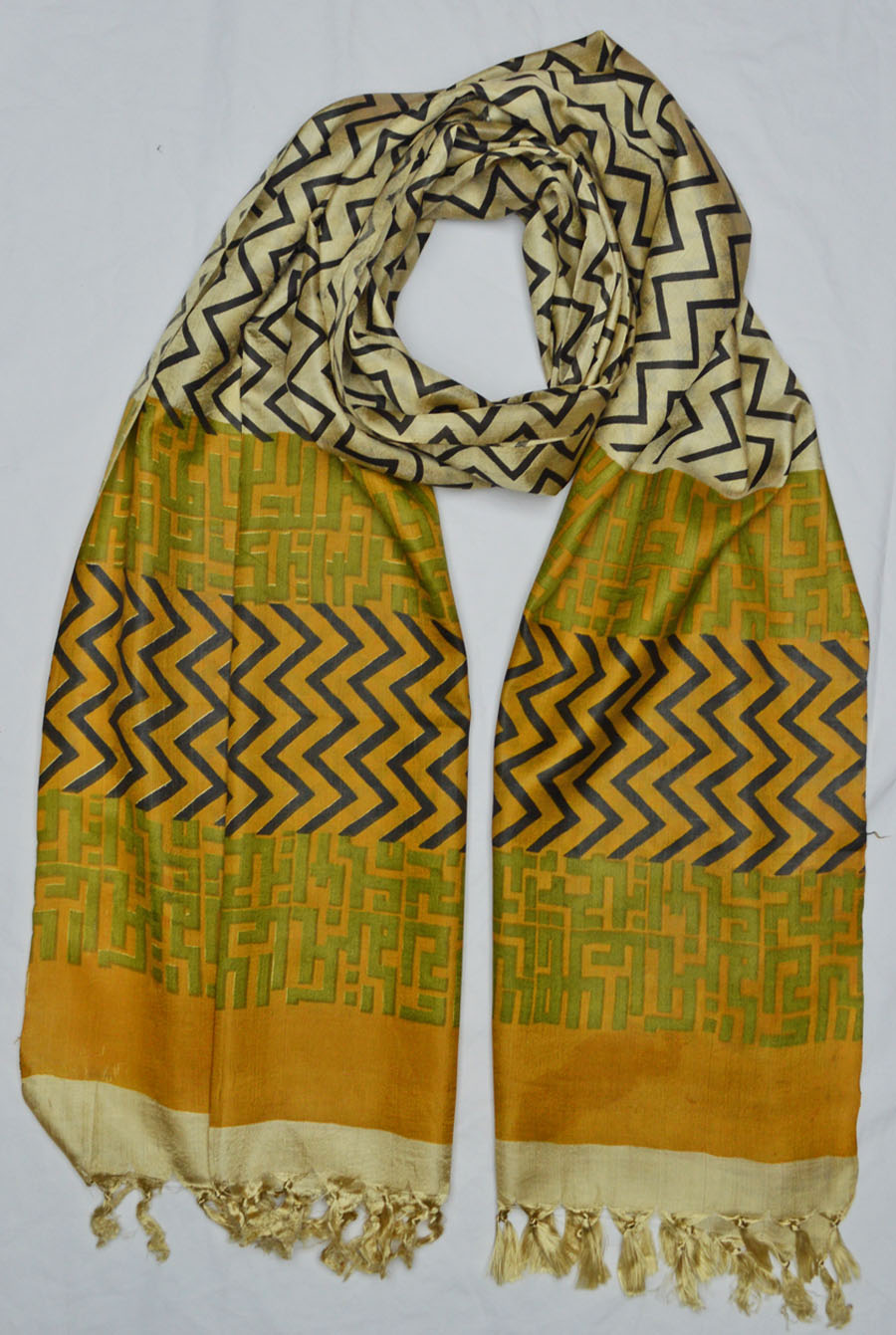 Tussar Silk  3925