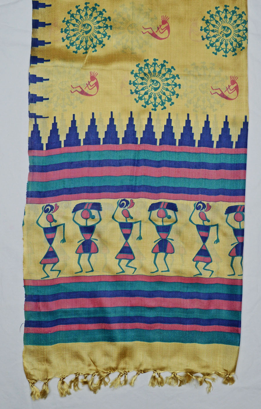 Tussar Silk  3928