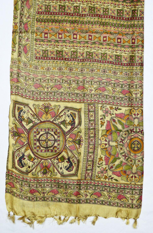 Tussar Silk  3933