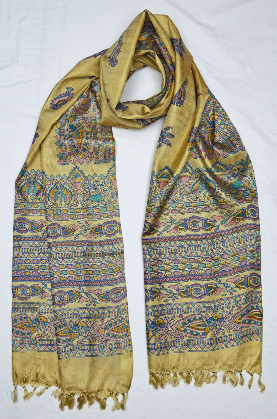 Tussar Silk  3936
