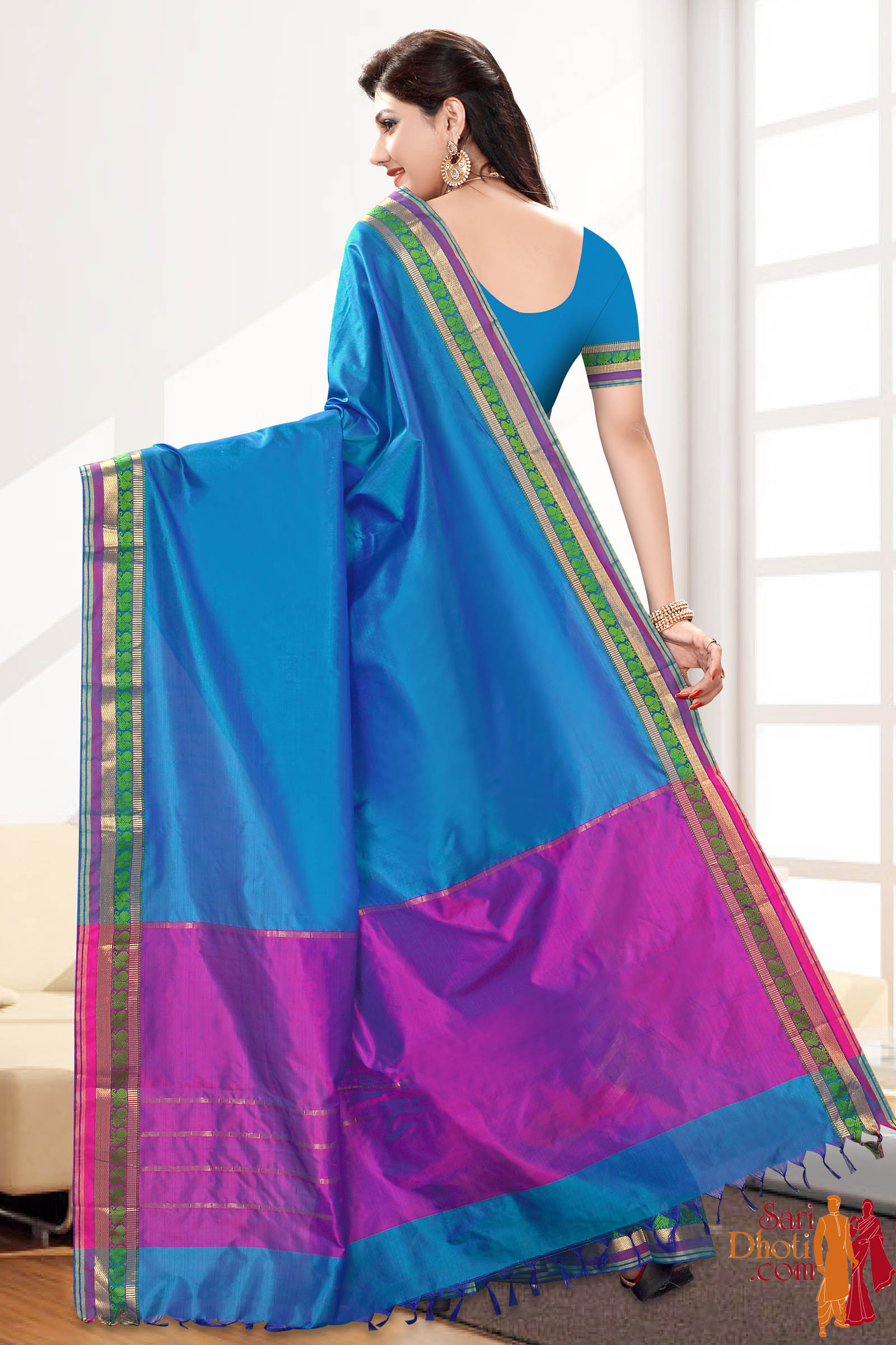 Soft Silk Saree 4160