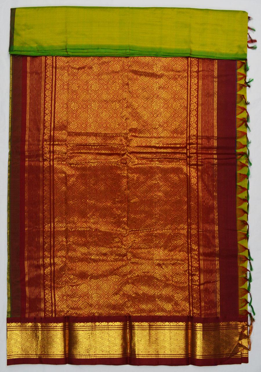 Temple Saree 4502