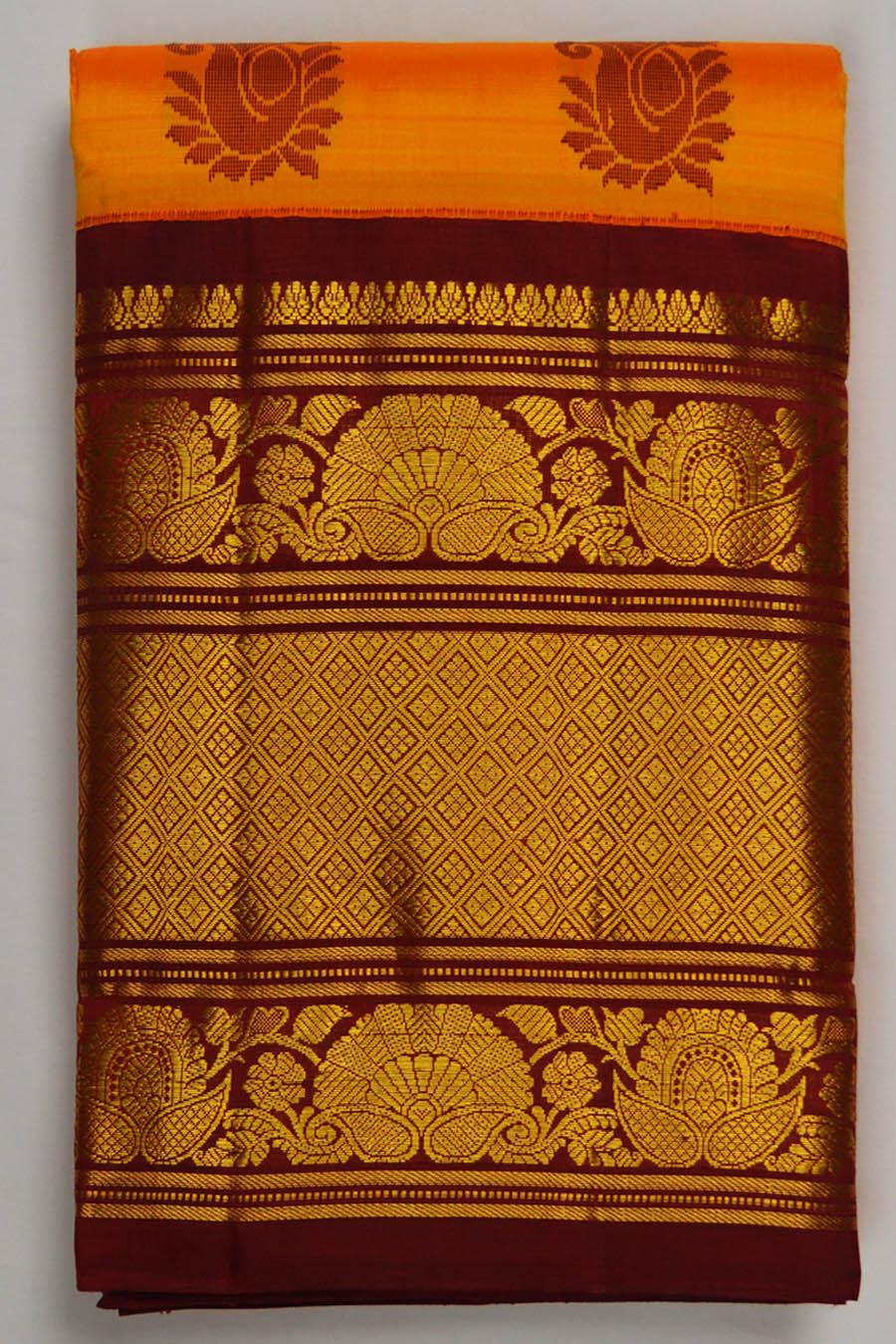 Temple Saree 4549
