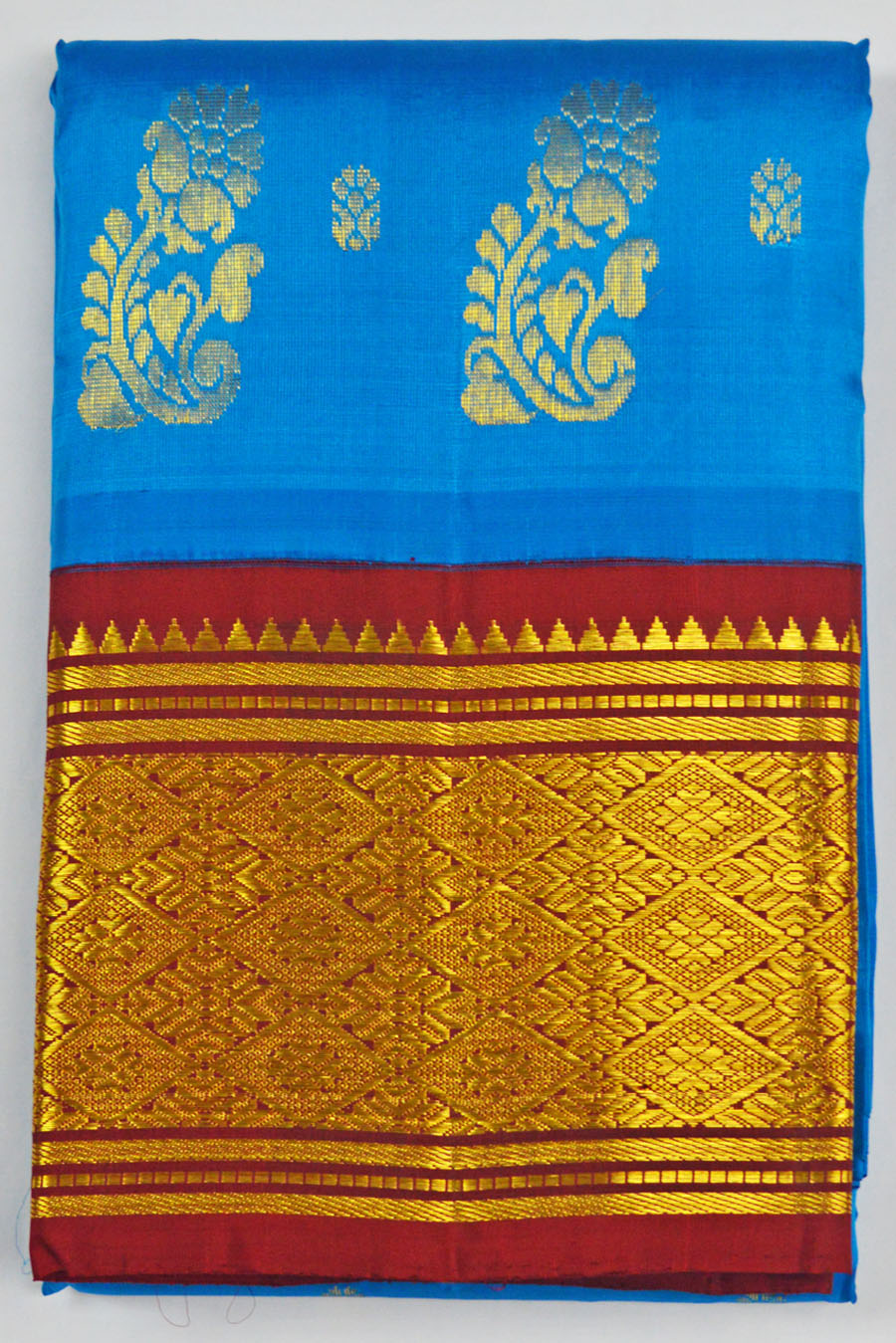 Temple Saree 4592