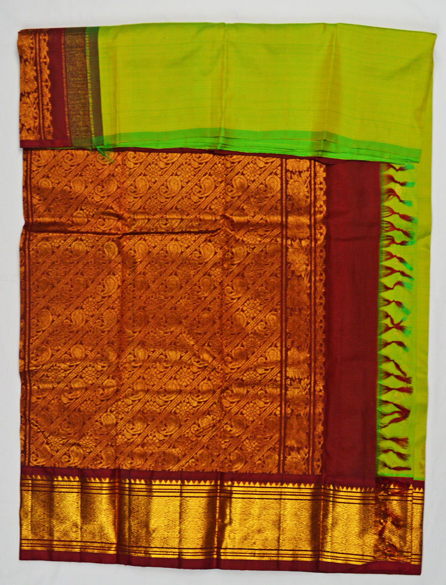 Temple Saree 4605