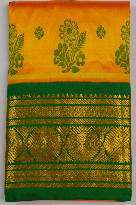 Temple Saree 4662