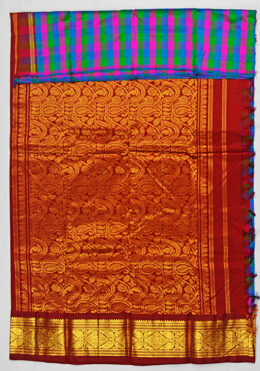 Temple Saree 4712