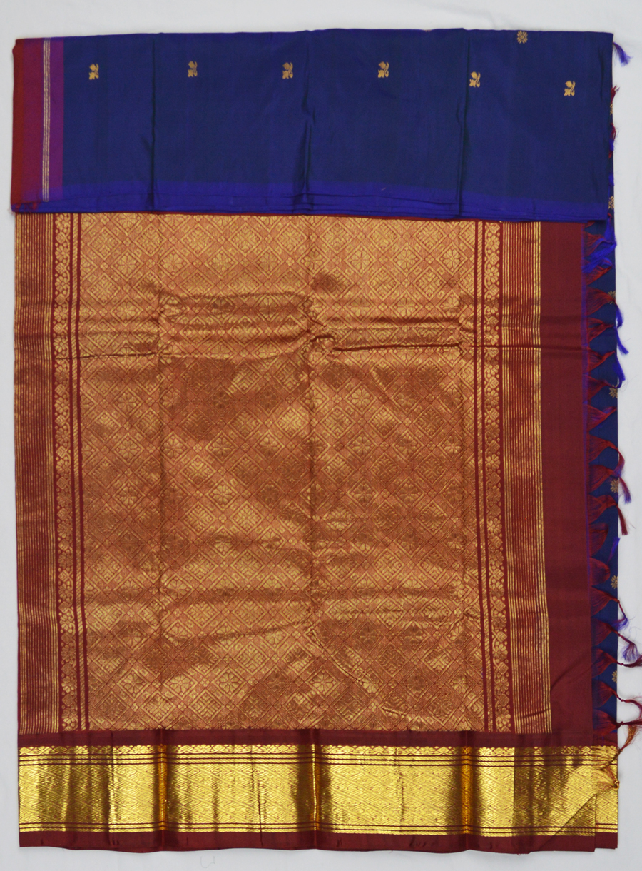 Temple Saree 4971