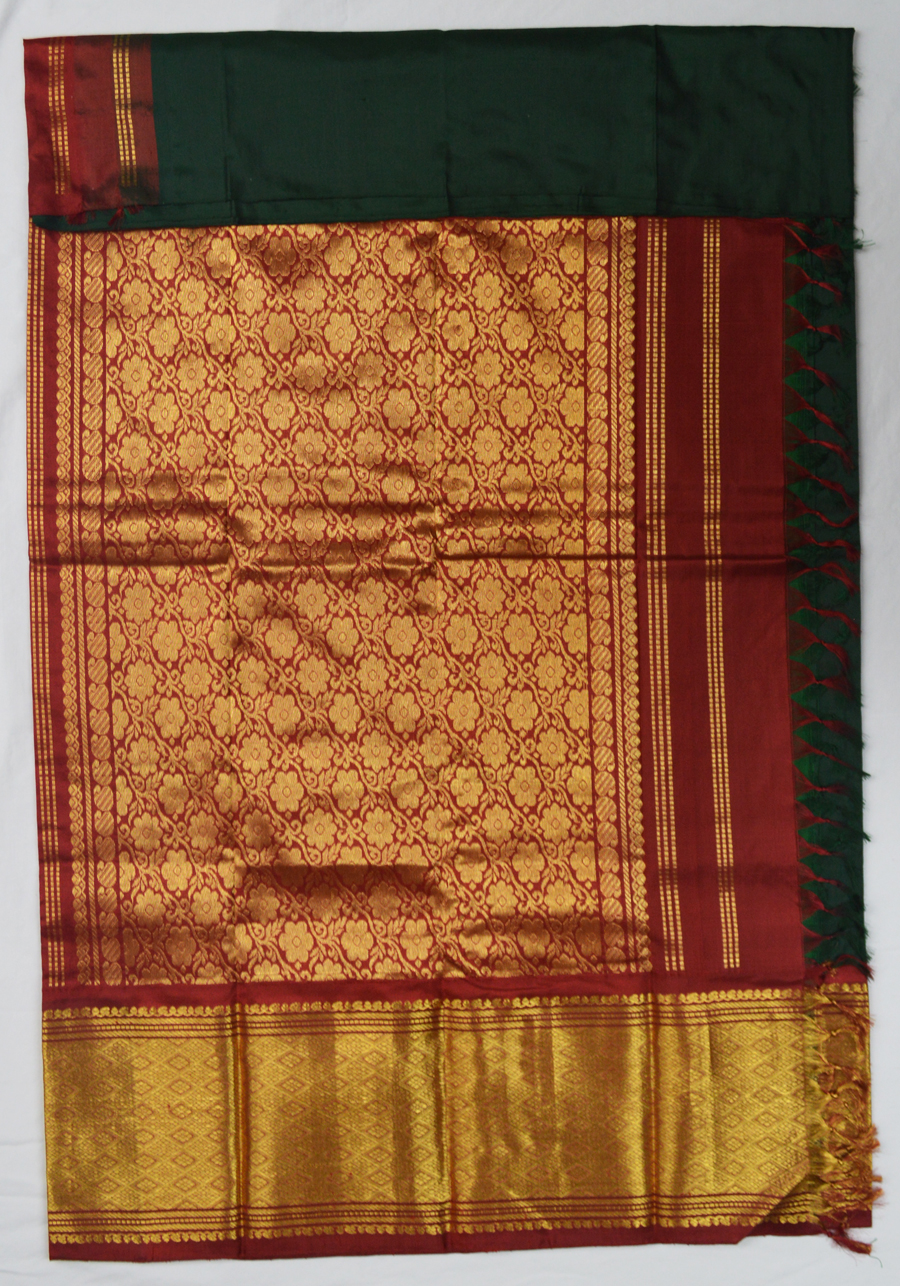 Temple Saree 4974