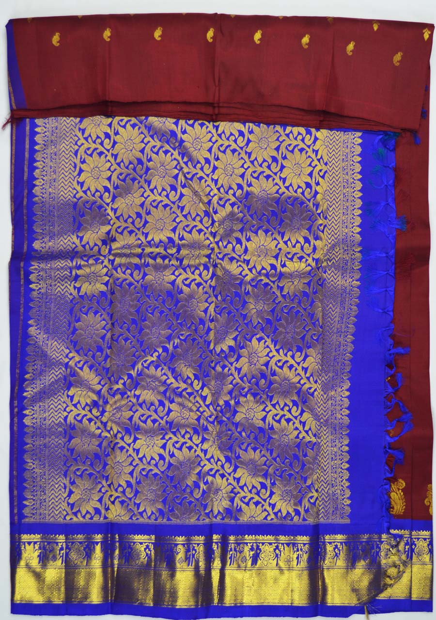 Temple Saree 5231