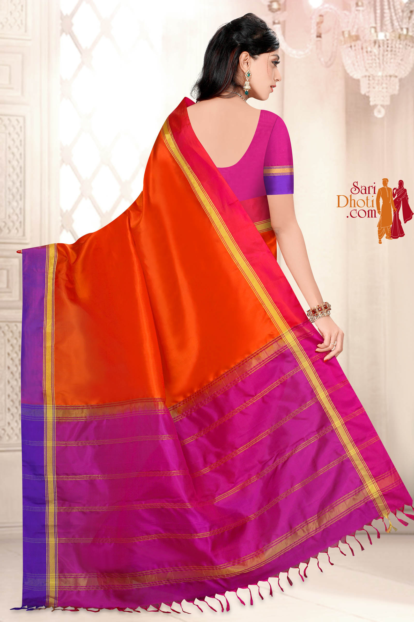 Soft Silk Saree 5820