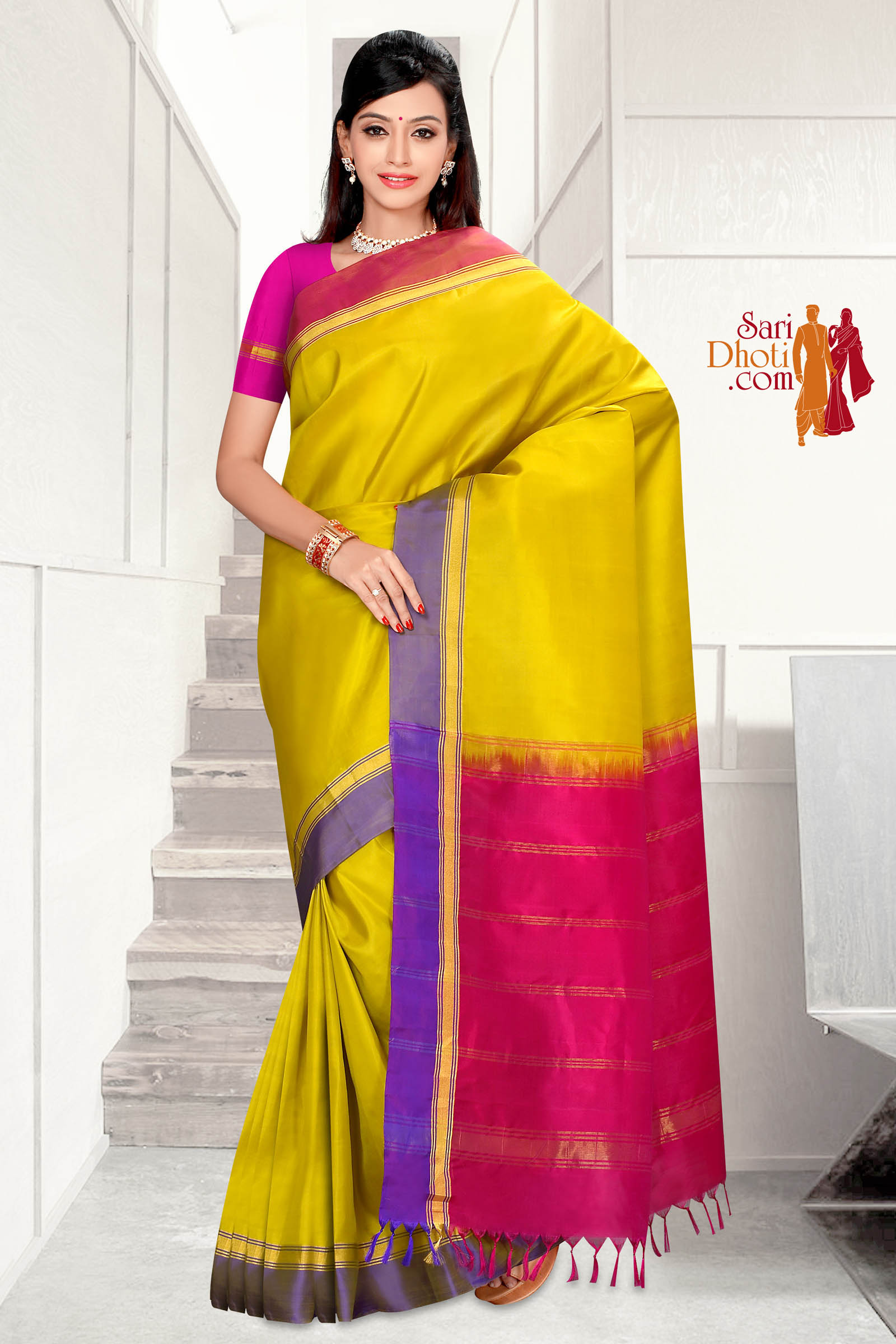 Soft Silk Saree 5821