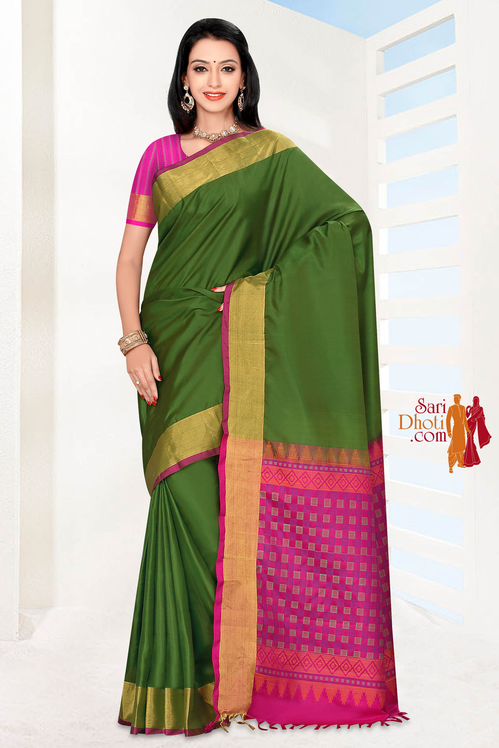 Soft Silk Saree 5825