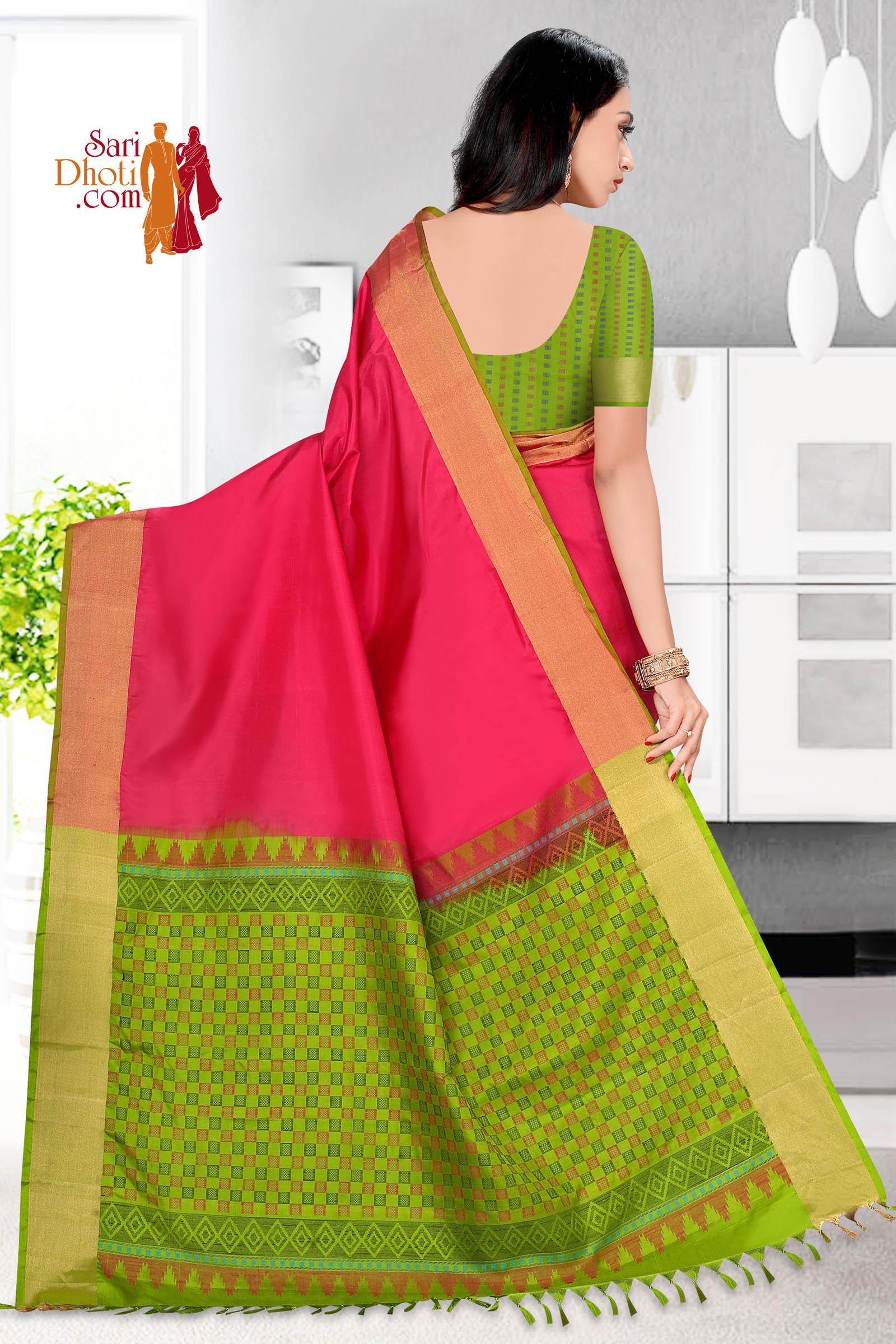 Soft Silk Saree 5826