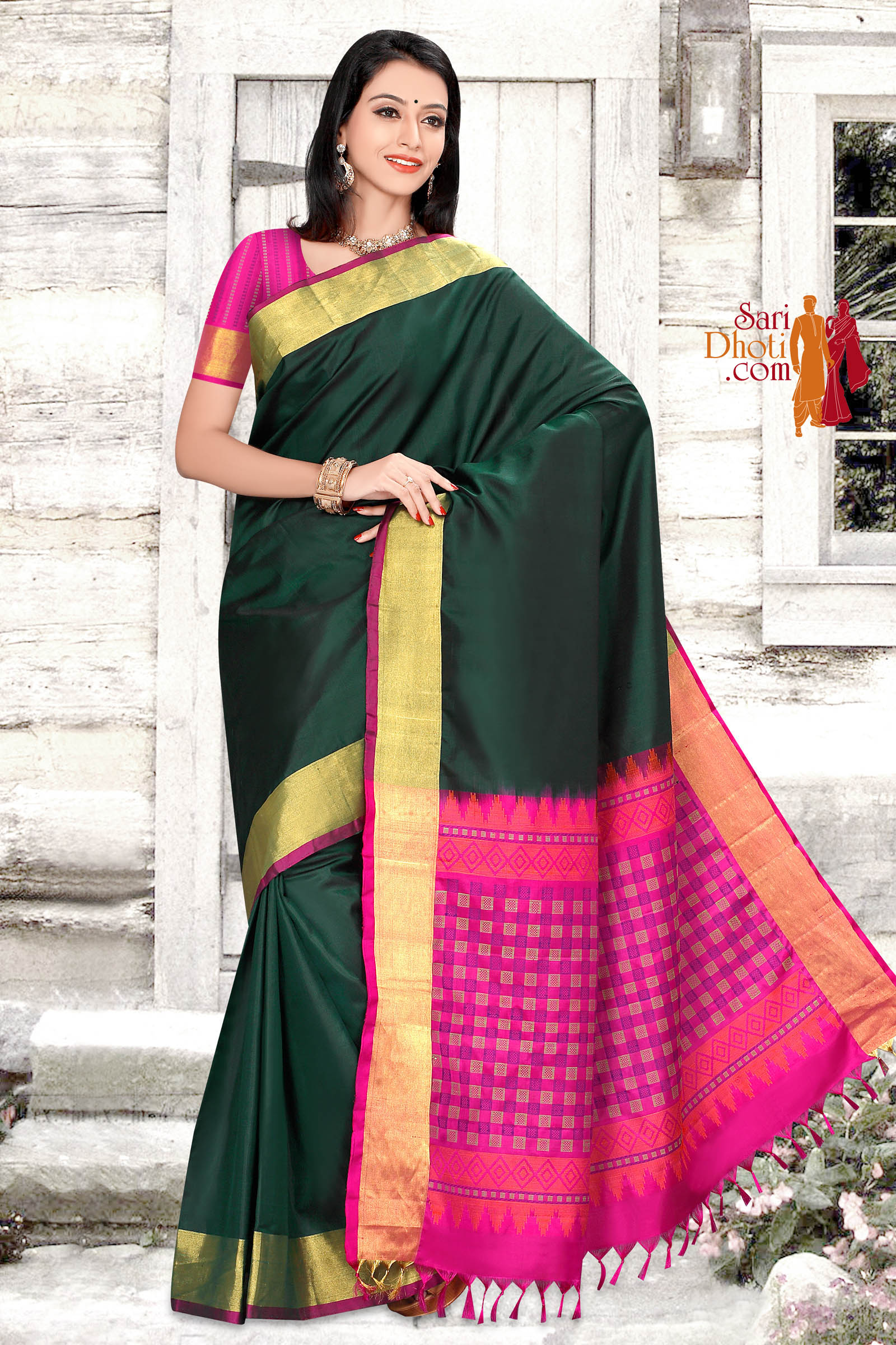 Soft Silk Saree 5830