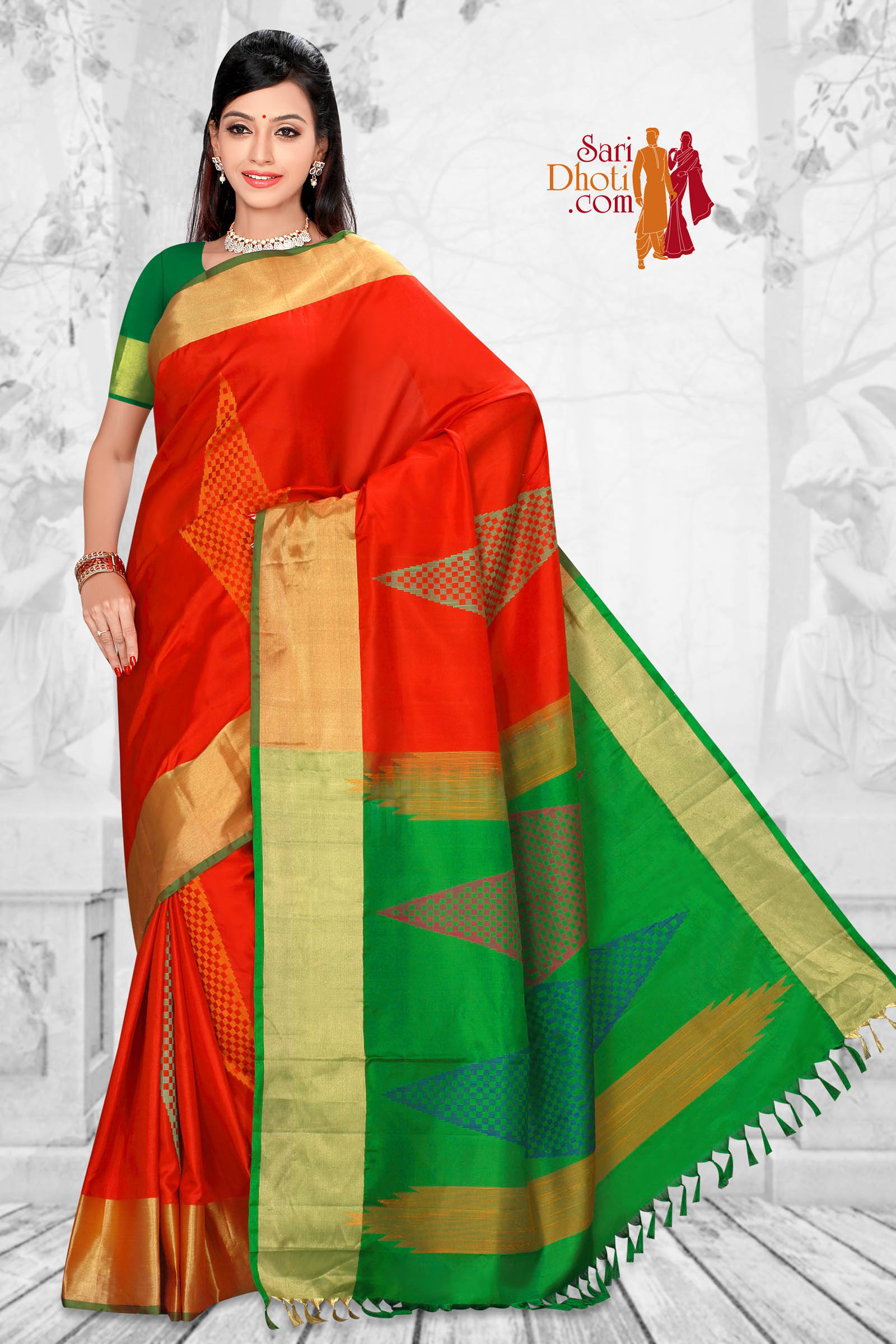 Soft Silk Saree 5833