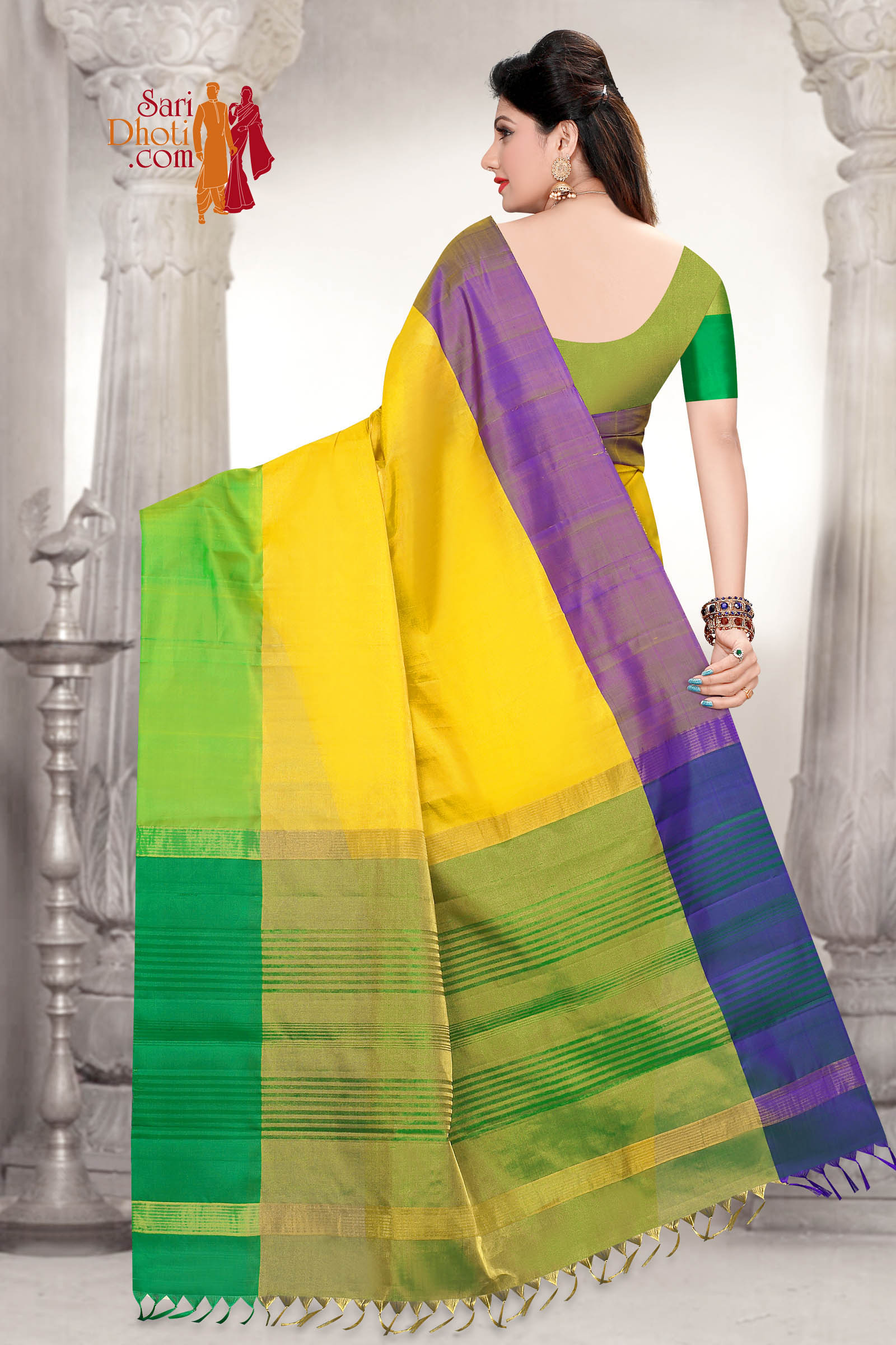 Soft Silk Saree 5837