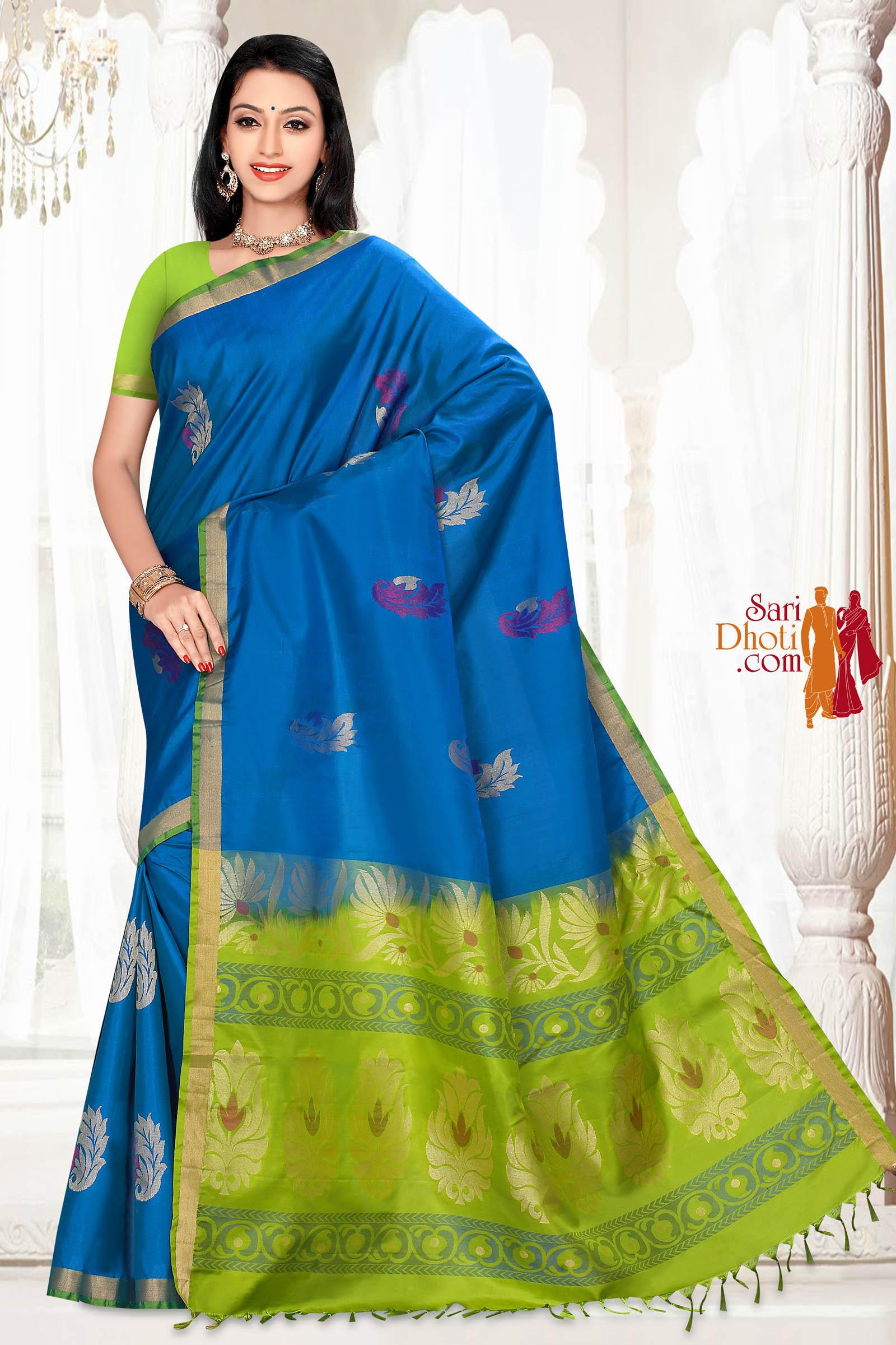 Soft Silk Saree 5838