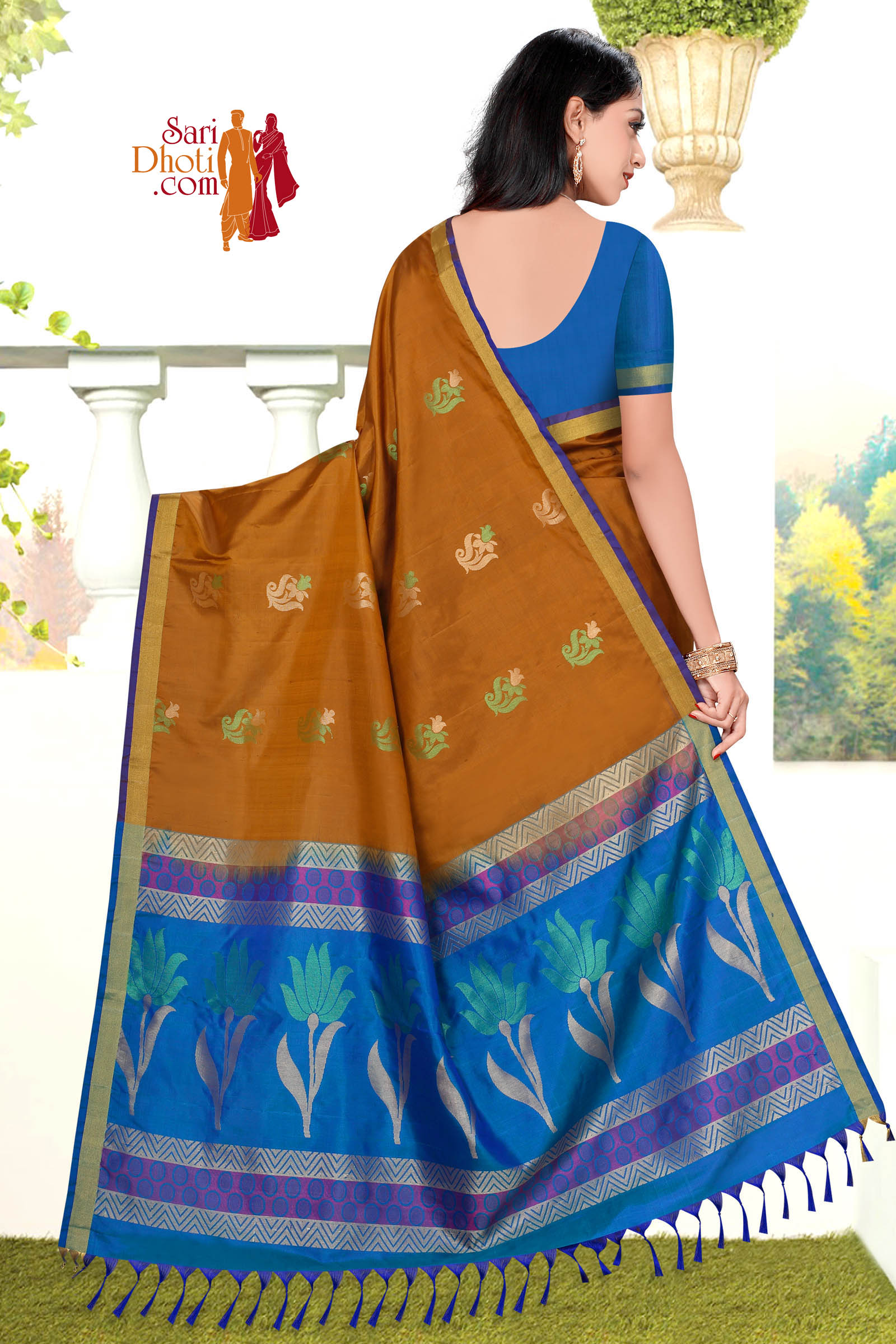 Soft Silk Saree 5840