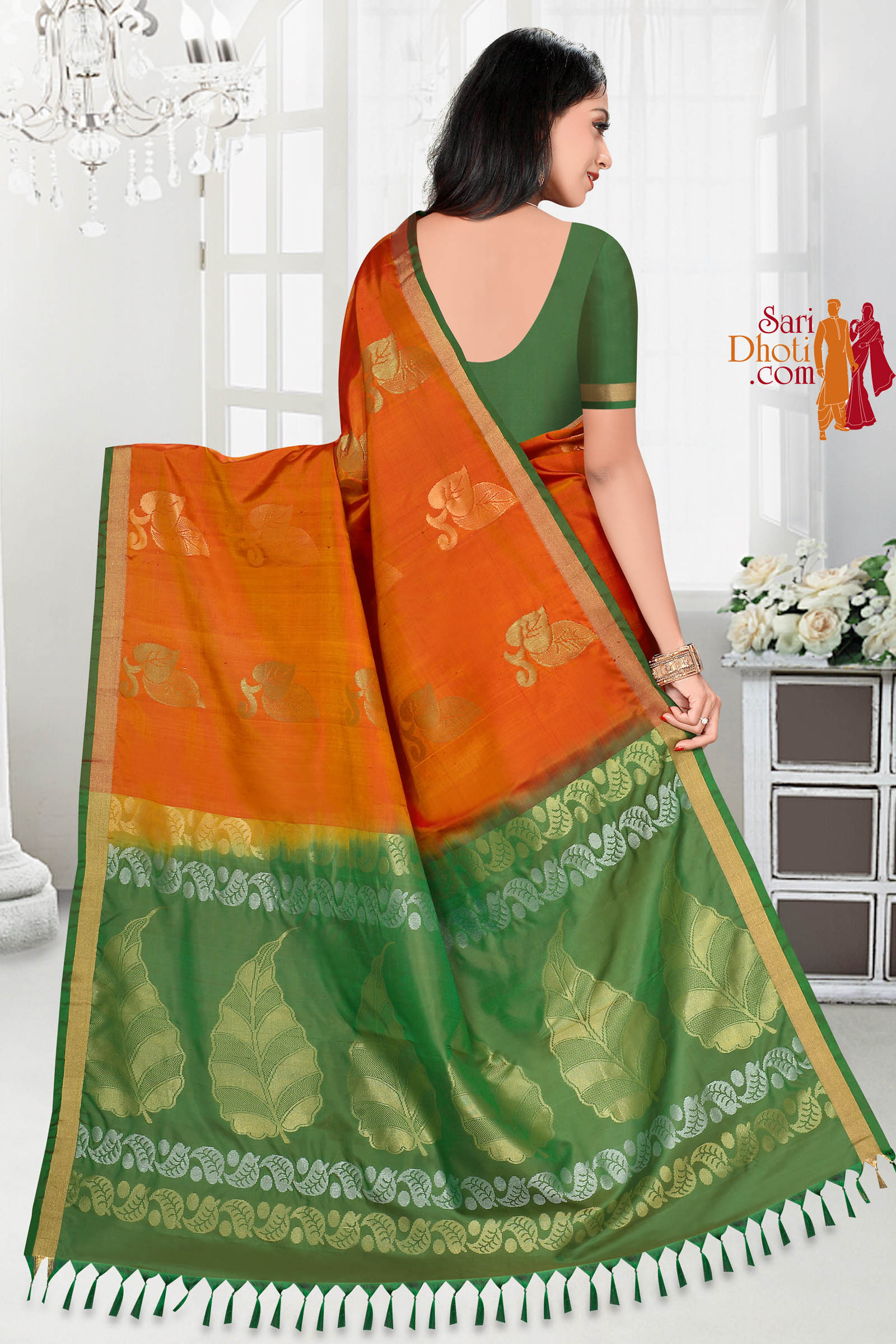 Soft Silk Saree 5841